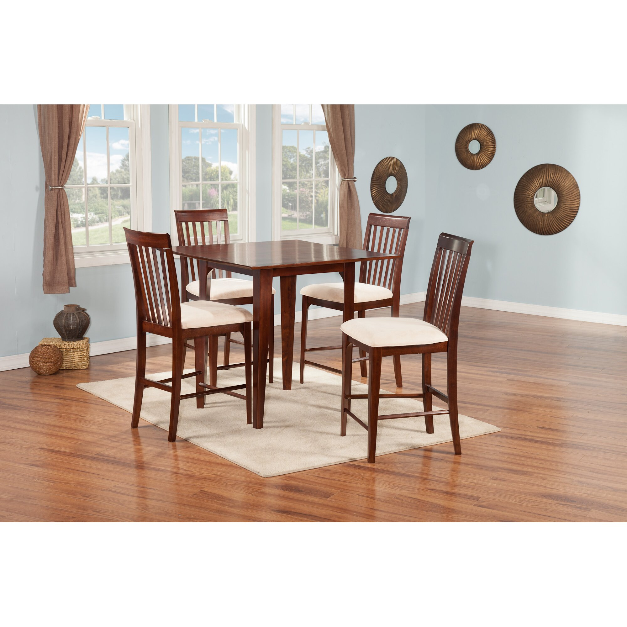 Large size of kitchen table and chairs high kitchen table for Ashley furniture montreal