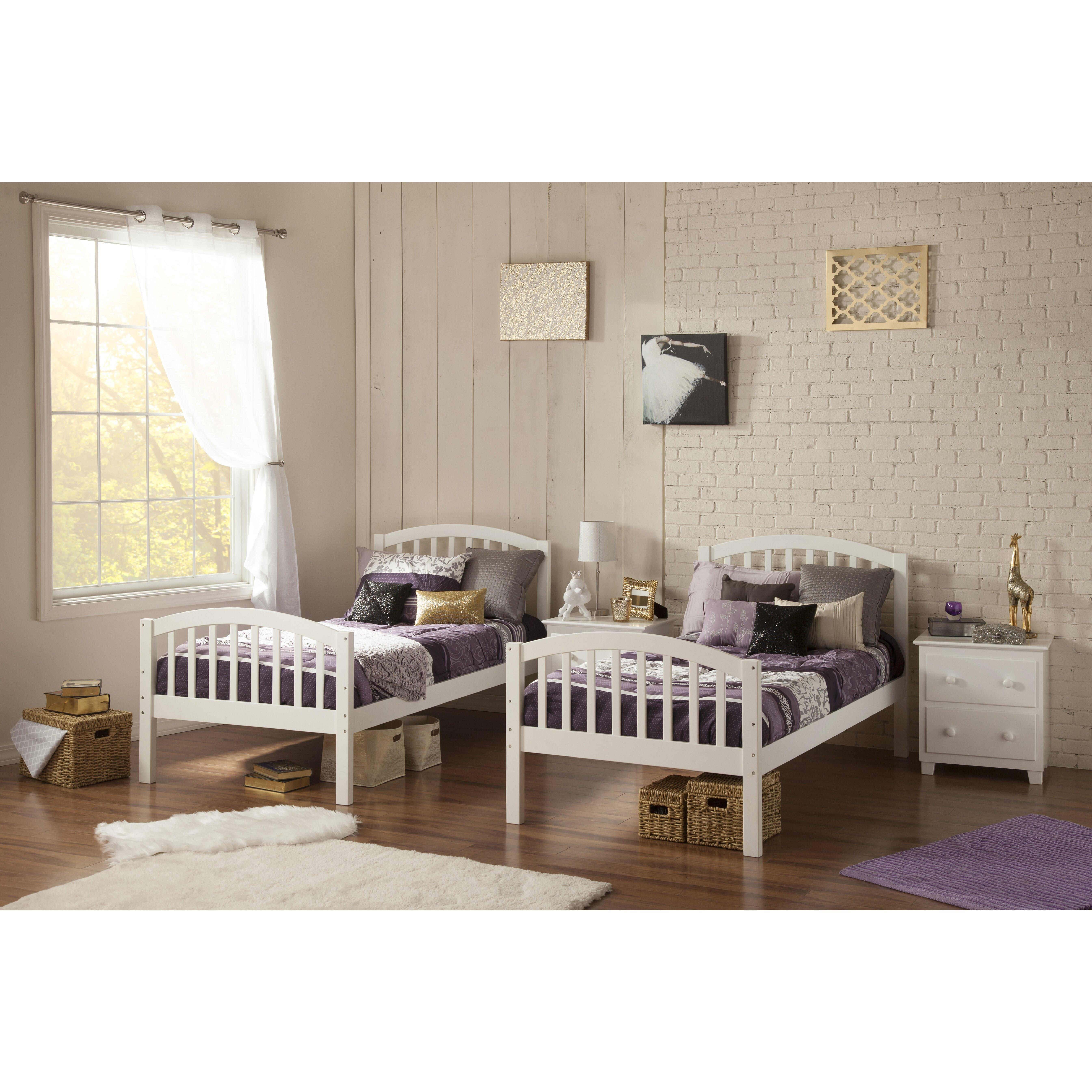 Atlantic Furniture Richland Twin Over Full Bunk Bed Atlantic Furniture  Richland Twin Over Full Bunk With Atlantic Furniture