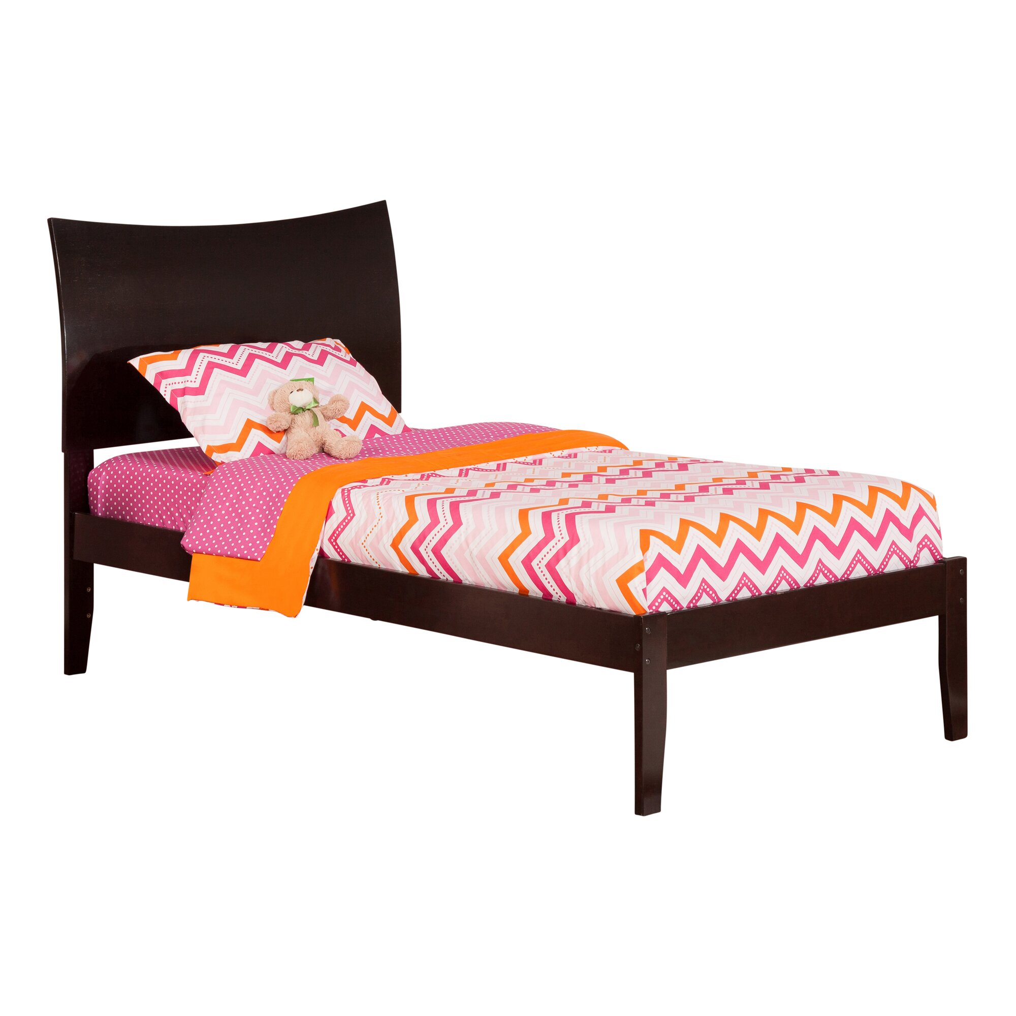 Soho Bedroom Furniture Atlantic Furniture Soho Extra Long Twin Sleigh Bed Reviews Wayfair