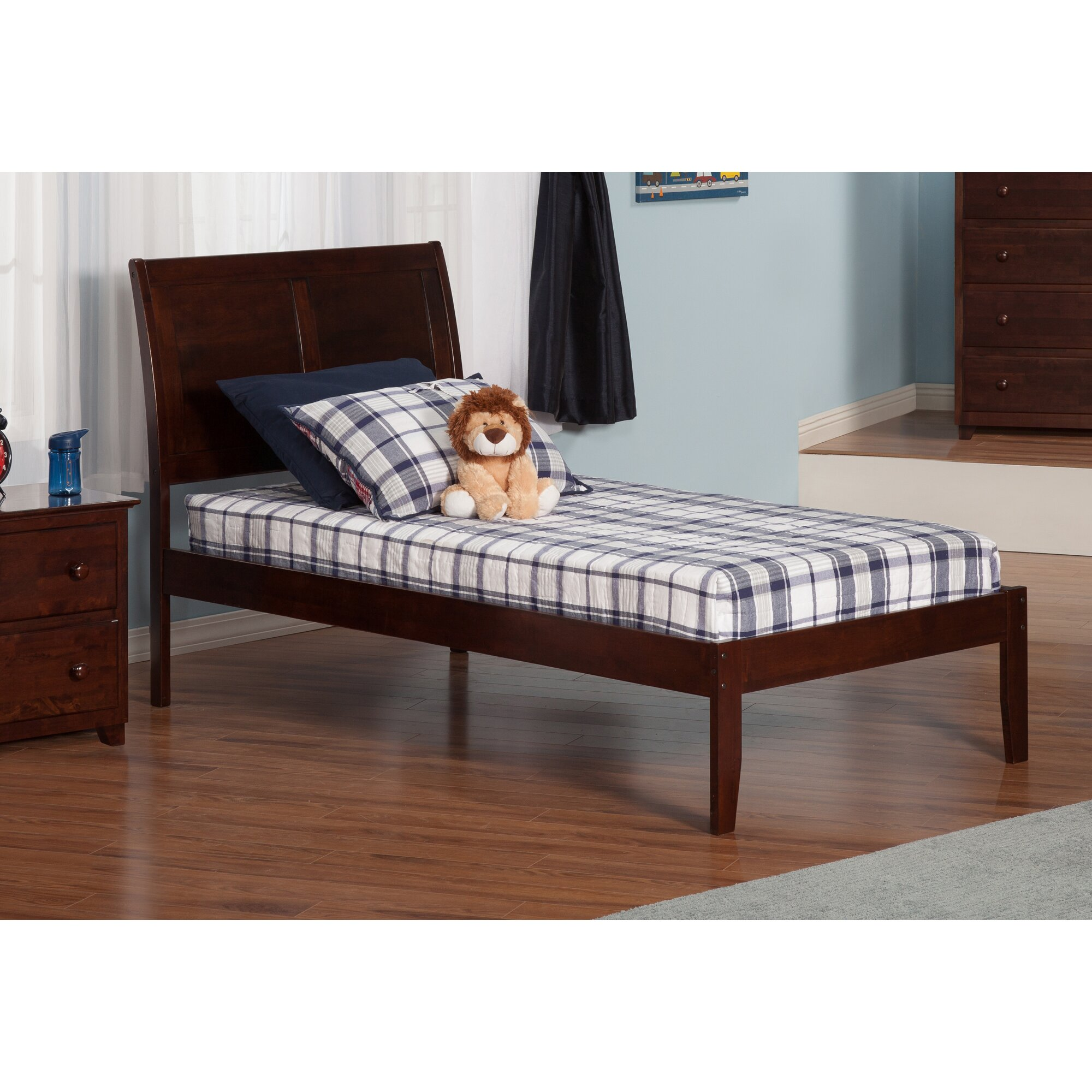 Atlantic Furniture Portland Extra Long Twin Sleigh Bed Reviews Wayfair