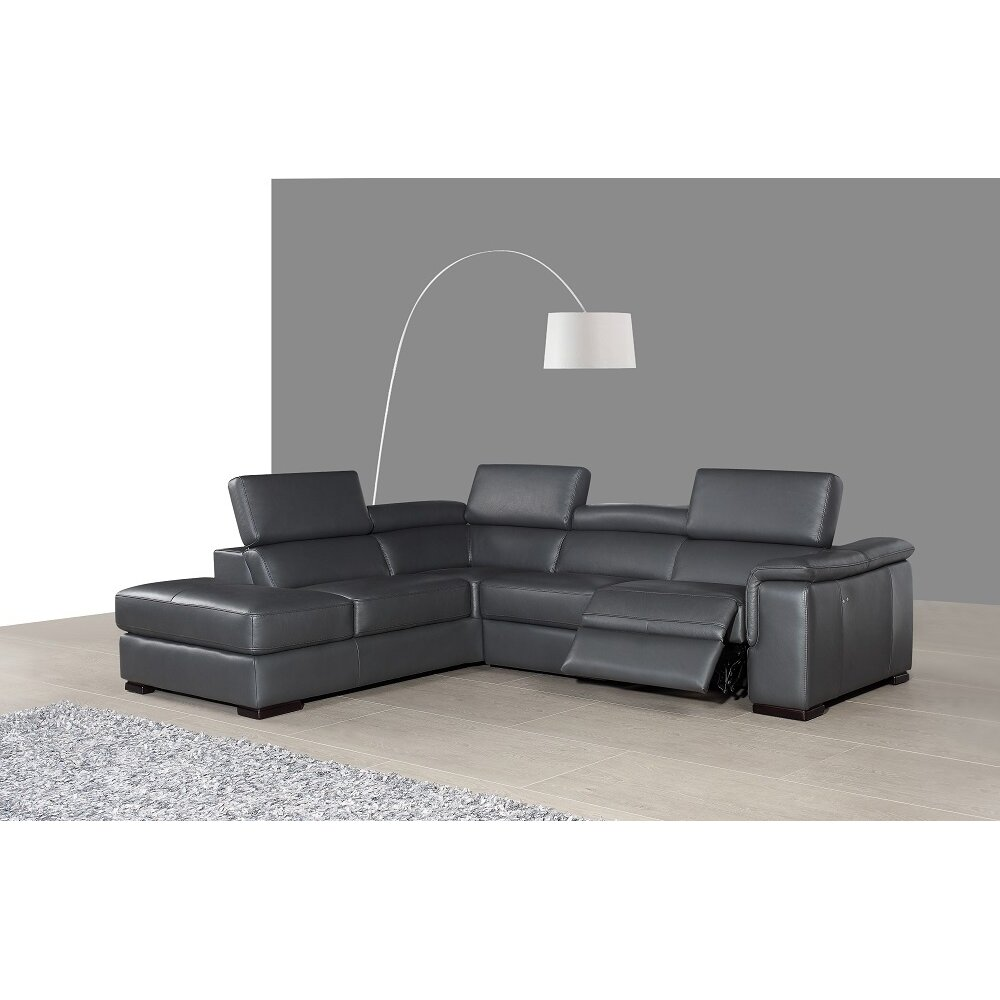 Orren Ellis Ryleigh Premium Leather Sectiona Amp Reviews