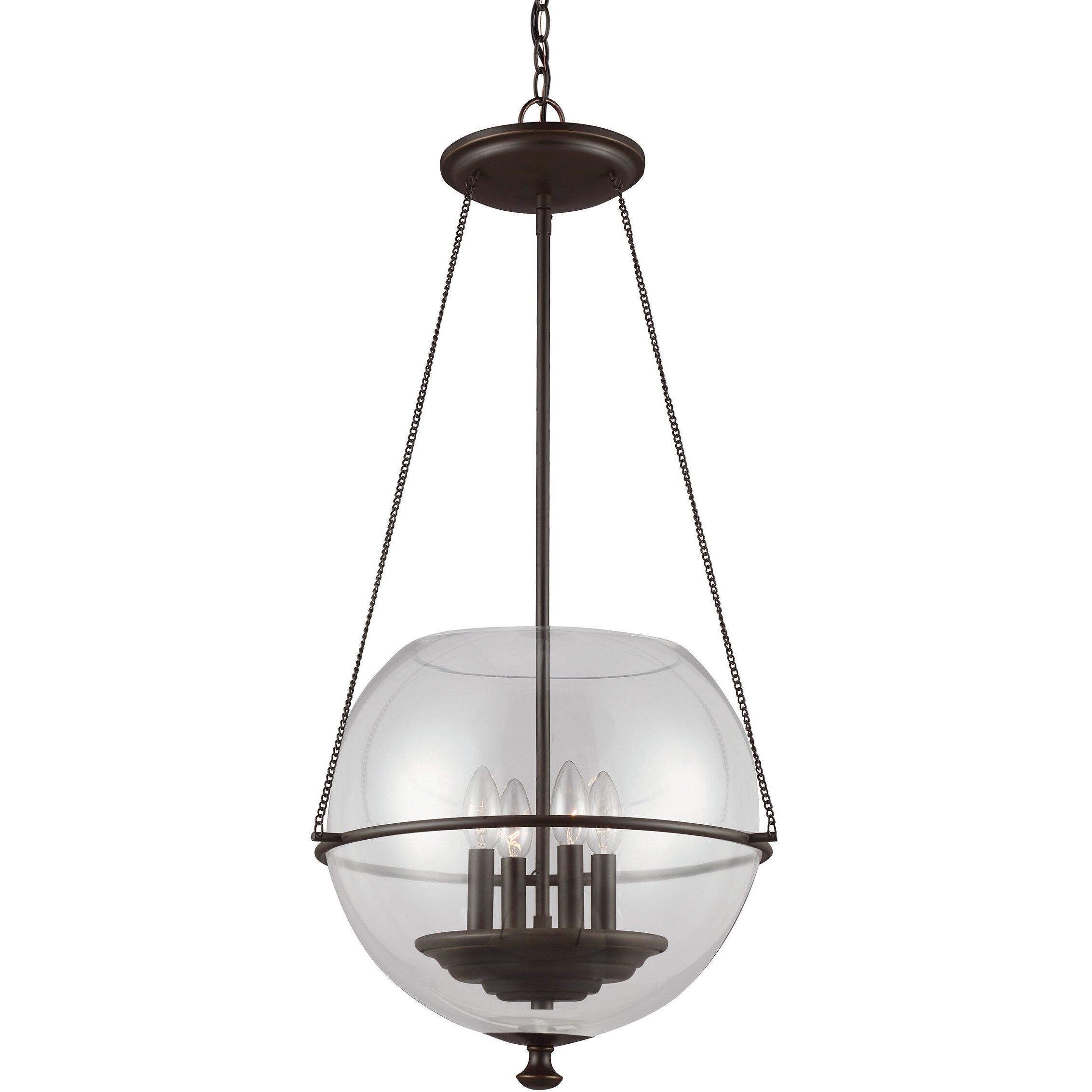 Sea Gull Lighting Havenwood 4-Light Globe Pendant
