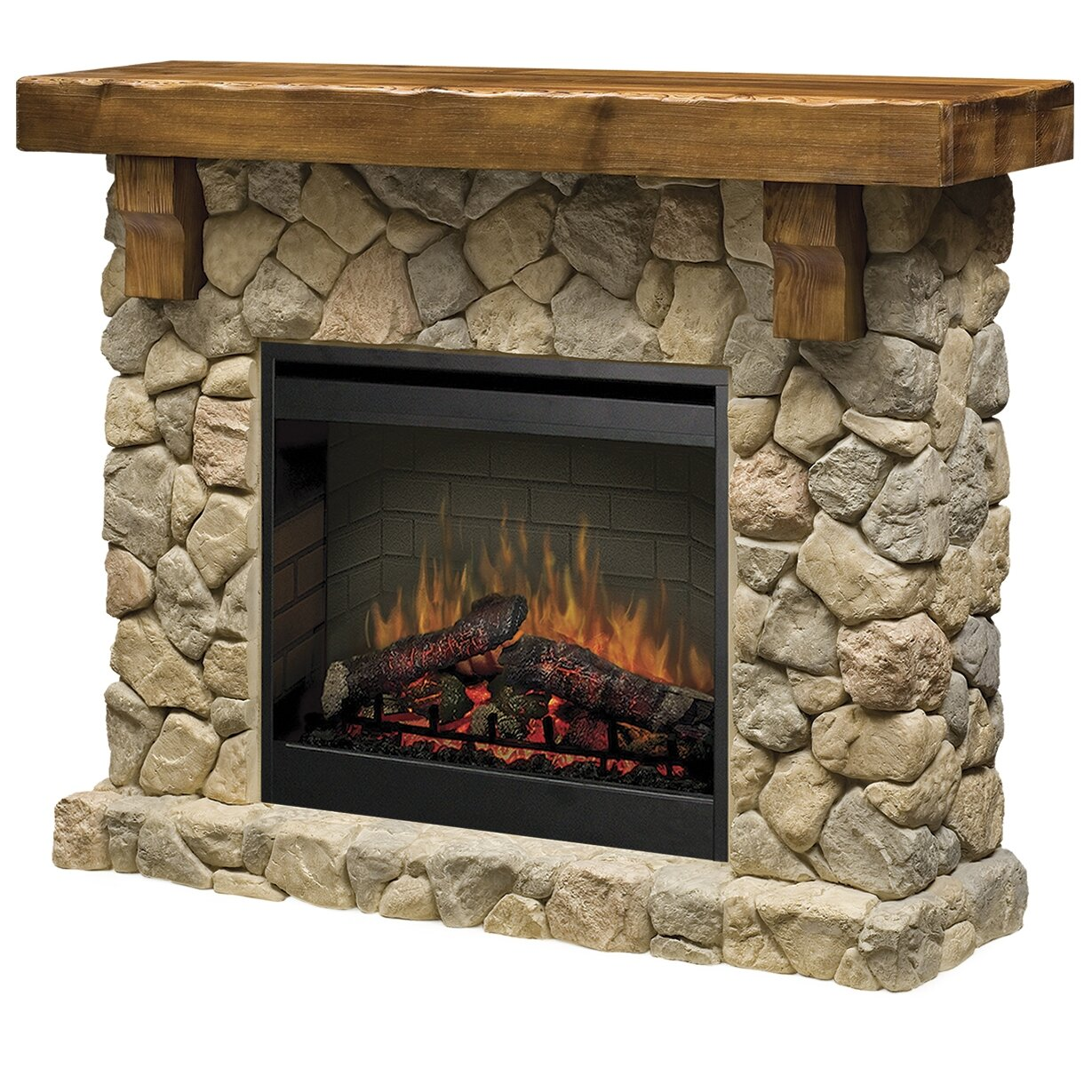 Dimplex Fieldstone Electric Fireplace - Dimplex Fieldstone Electric Fireplace & Reviews Wayfair