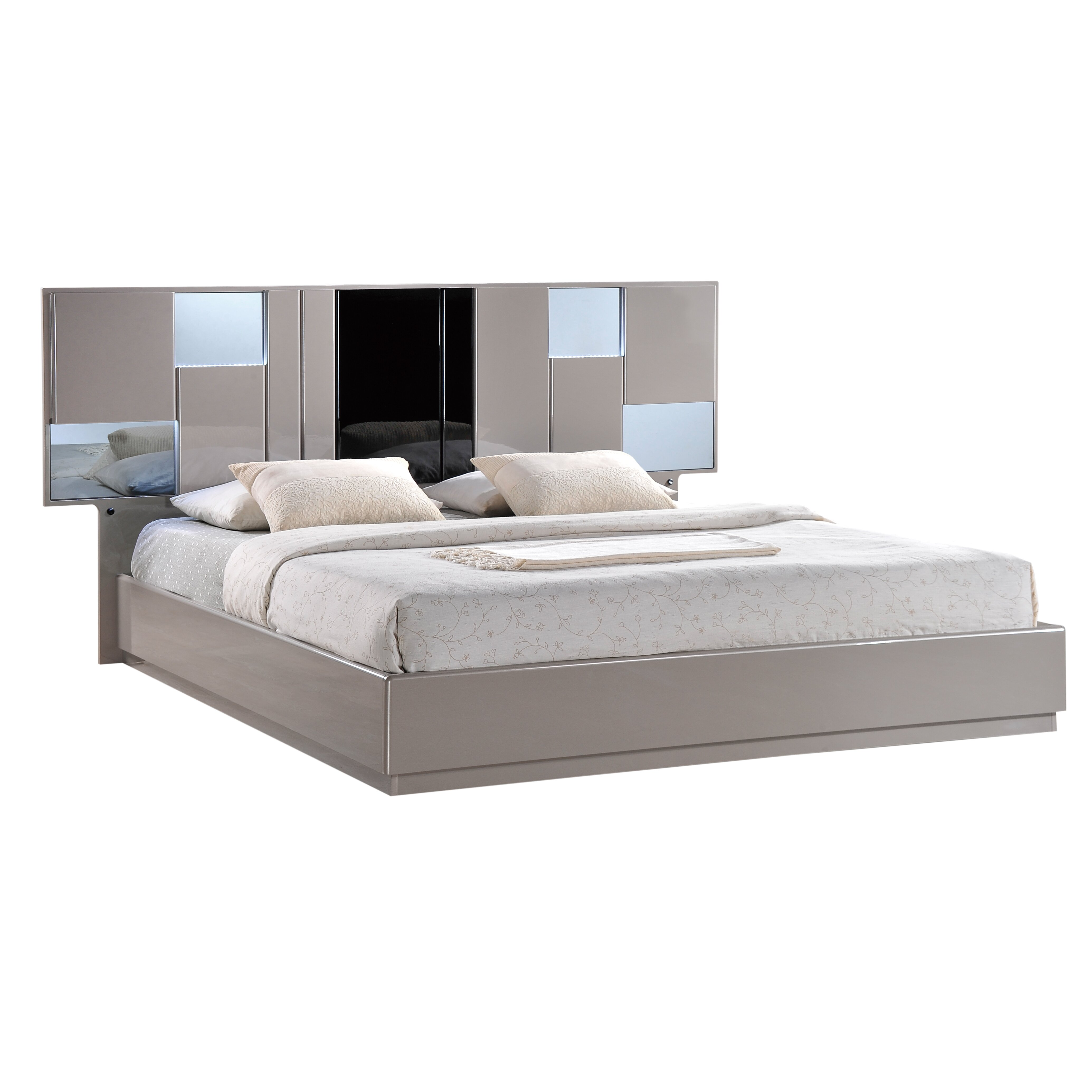 Global Bedroom Furniture Global Furniture Usa Bianca Panel Customizable Bedroom Set