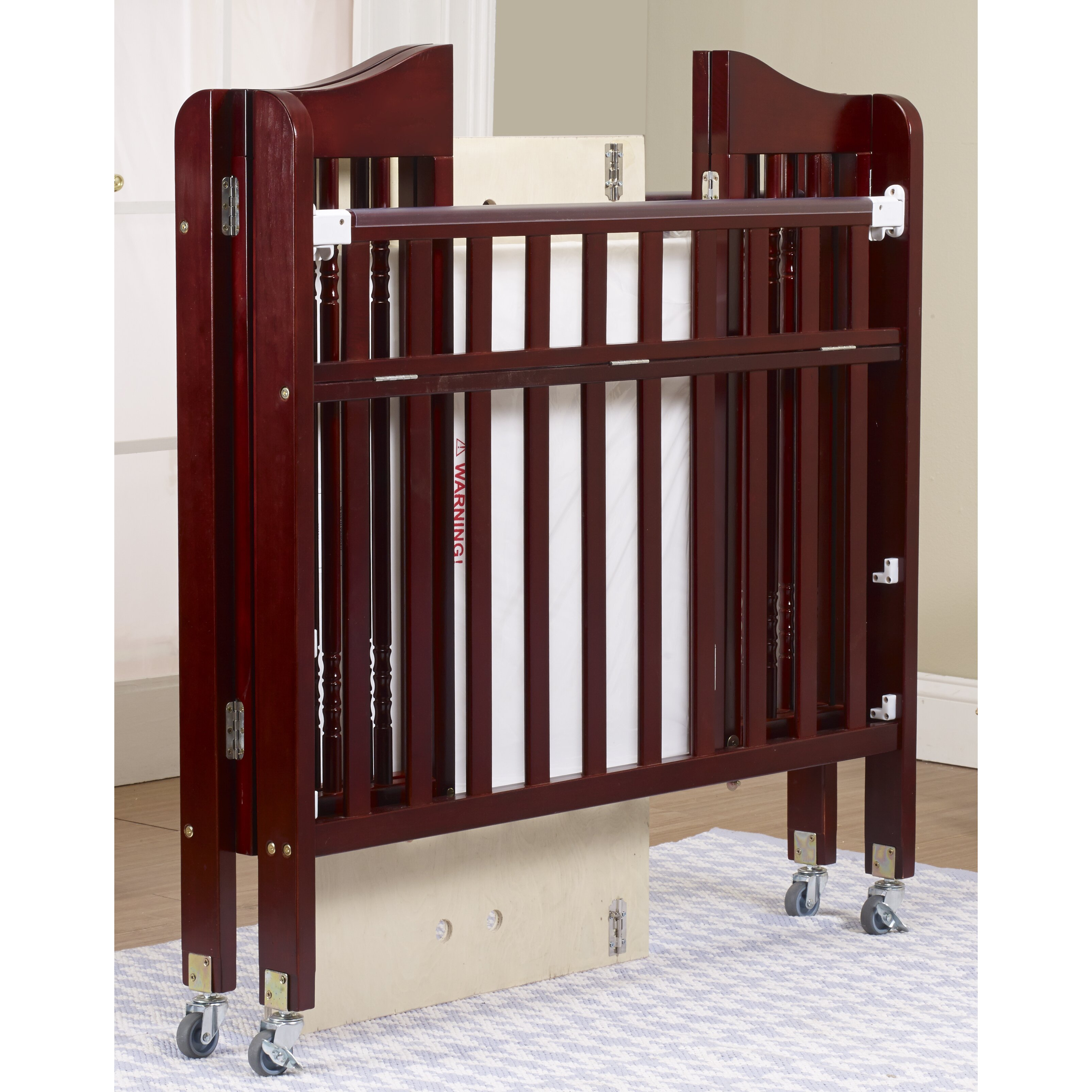 Evacuation crib for sale - Orbelle Trading Nataliel Convertible Crib With Mattress