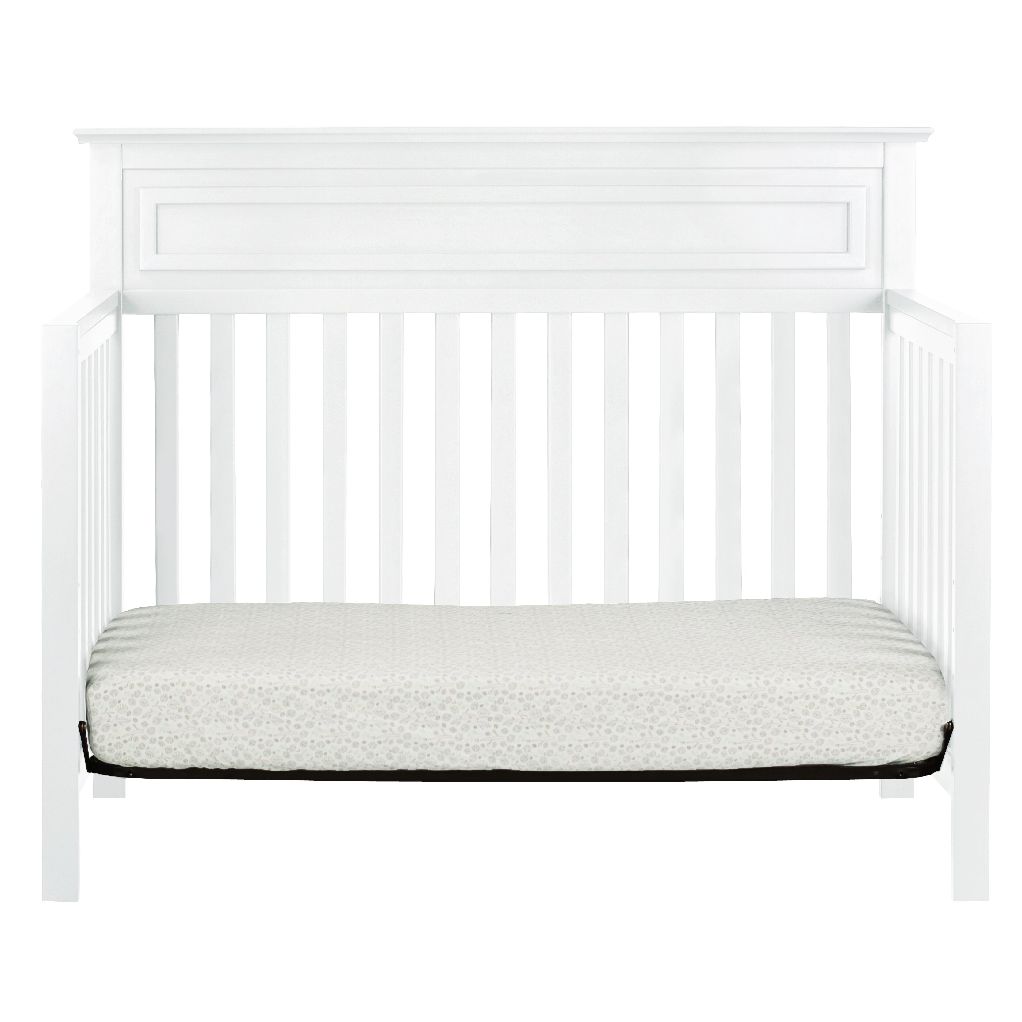 crib davinci bed conversion kit w espresso toddler baby lind cribs oak convertible in white sleigh rail magnifier slate jenny