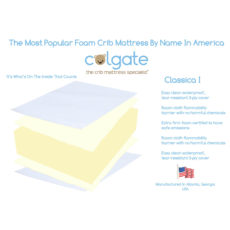 Crib for sale essex - Colgate Classica I Foam Crib Mattress