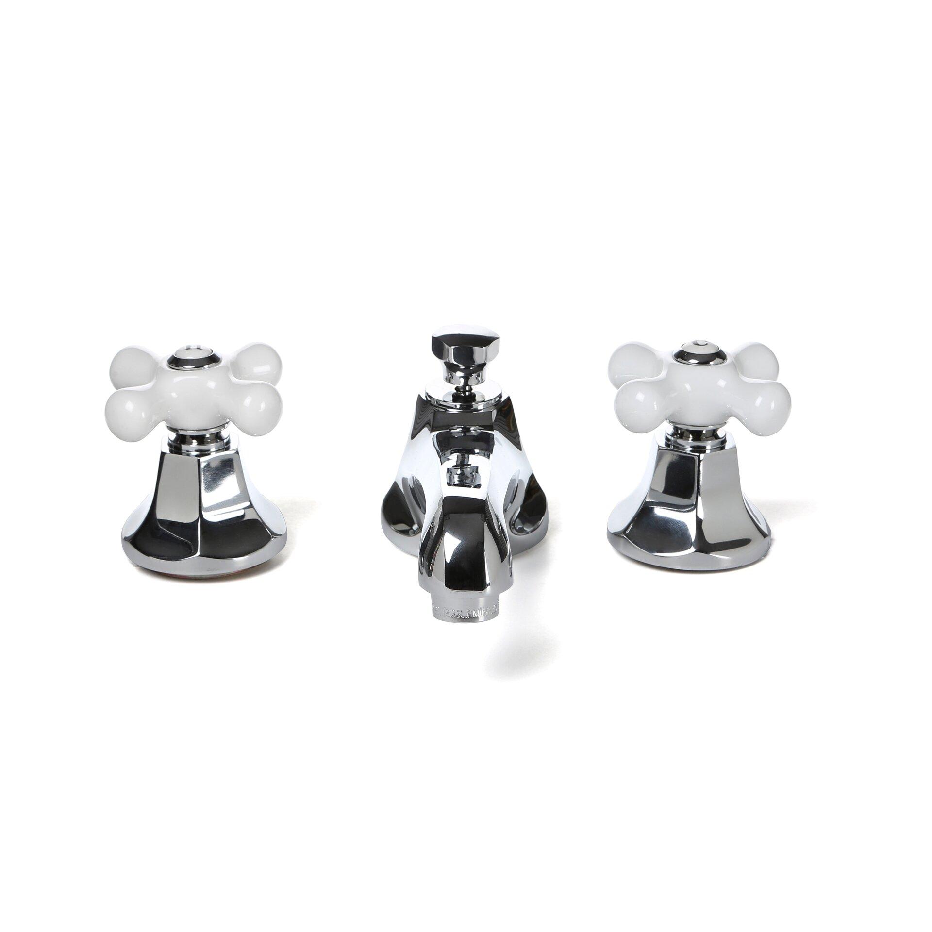 bathroom faucets white porcelain handles | My Web Value