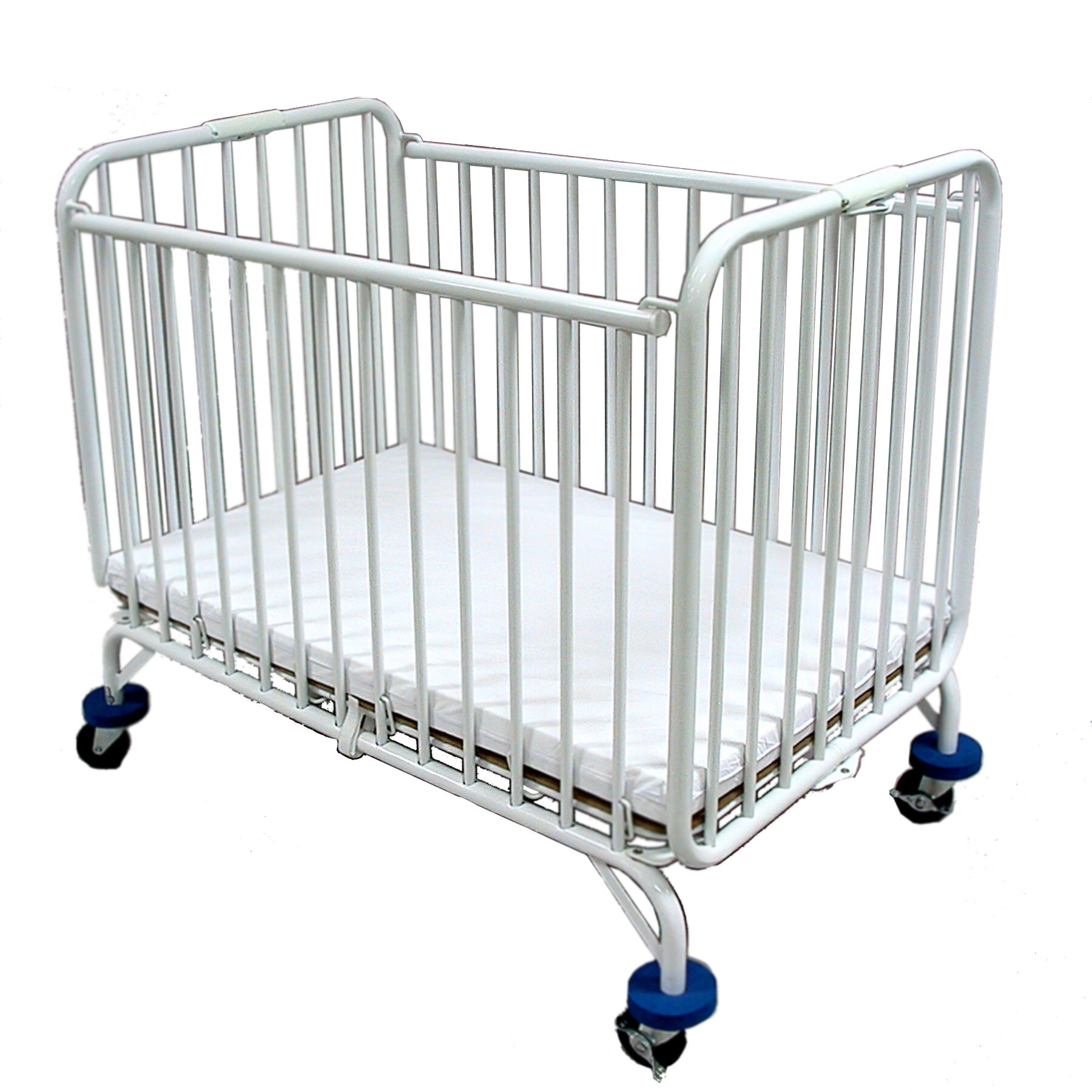 Evacuation crib for sale - L A Baby Baby Holiday Convertible Crib With Mattress