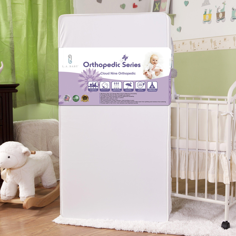 L A Baby Cloud Nine Orthopedic Crib Mattress & Reviews