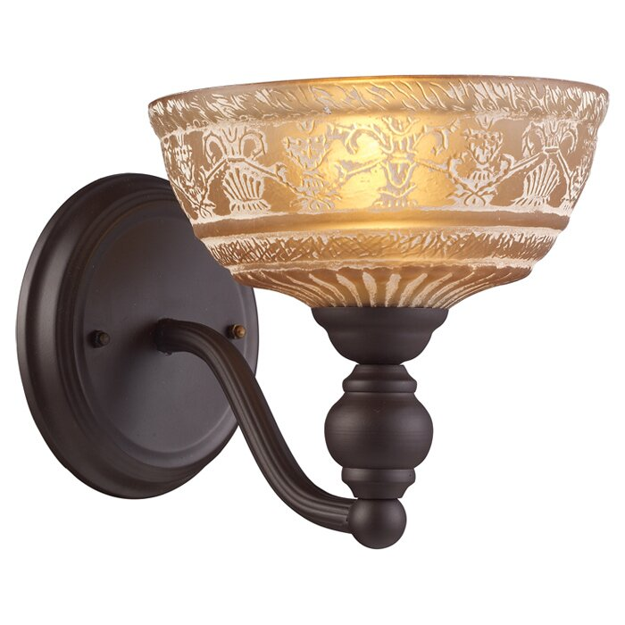 Landmark Lighting Norwich 1-Light Wall Sconce & Reviews