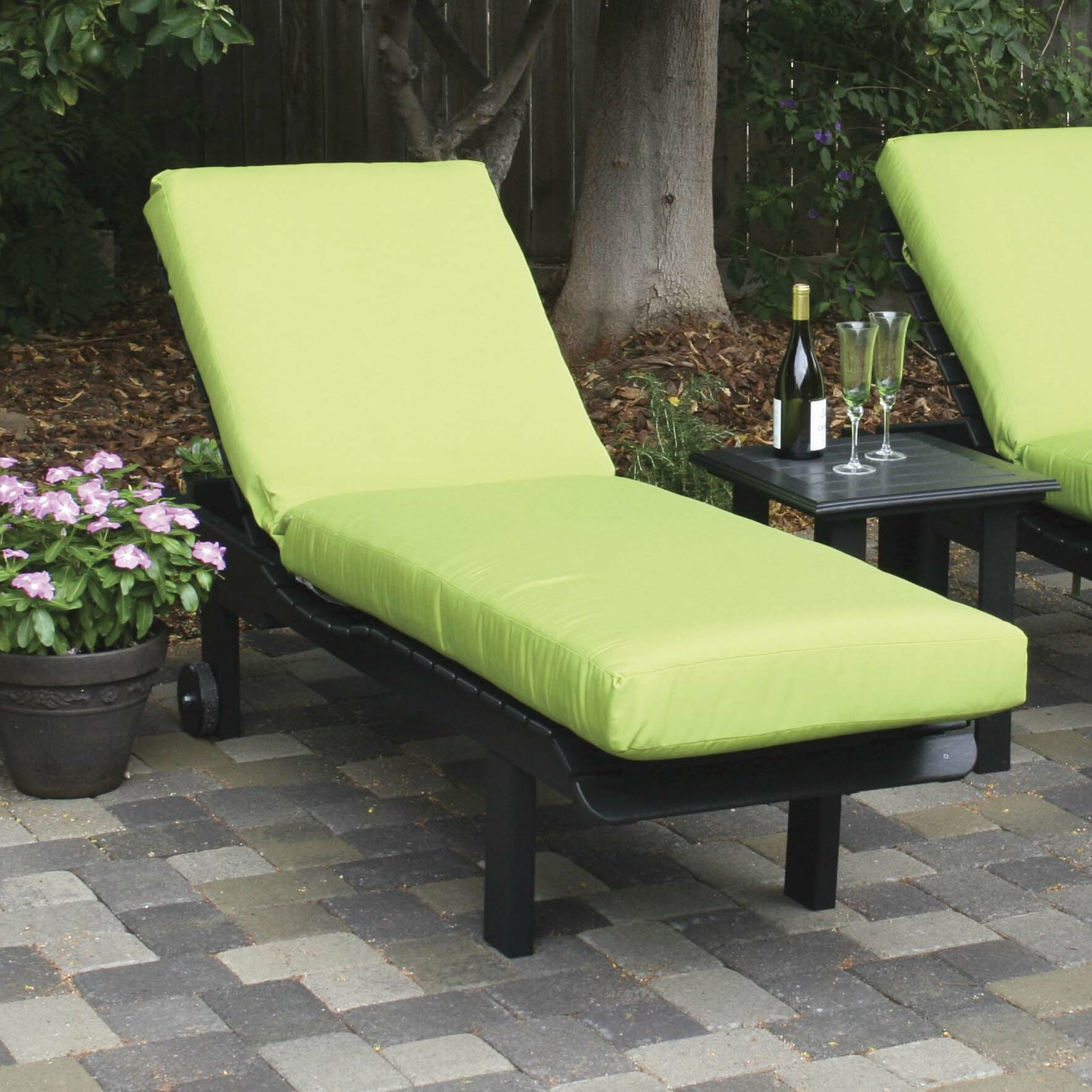 Eagle e Smithton Glider Outdoor Sunbrella Bench Cushion