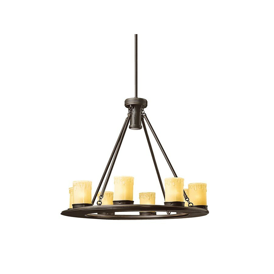 Kichler Oak Trail 9Light Outdoor Chandelier Reviews – Outdoor Chandelier