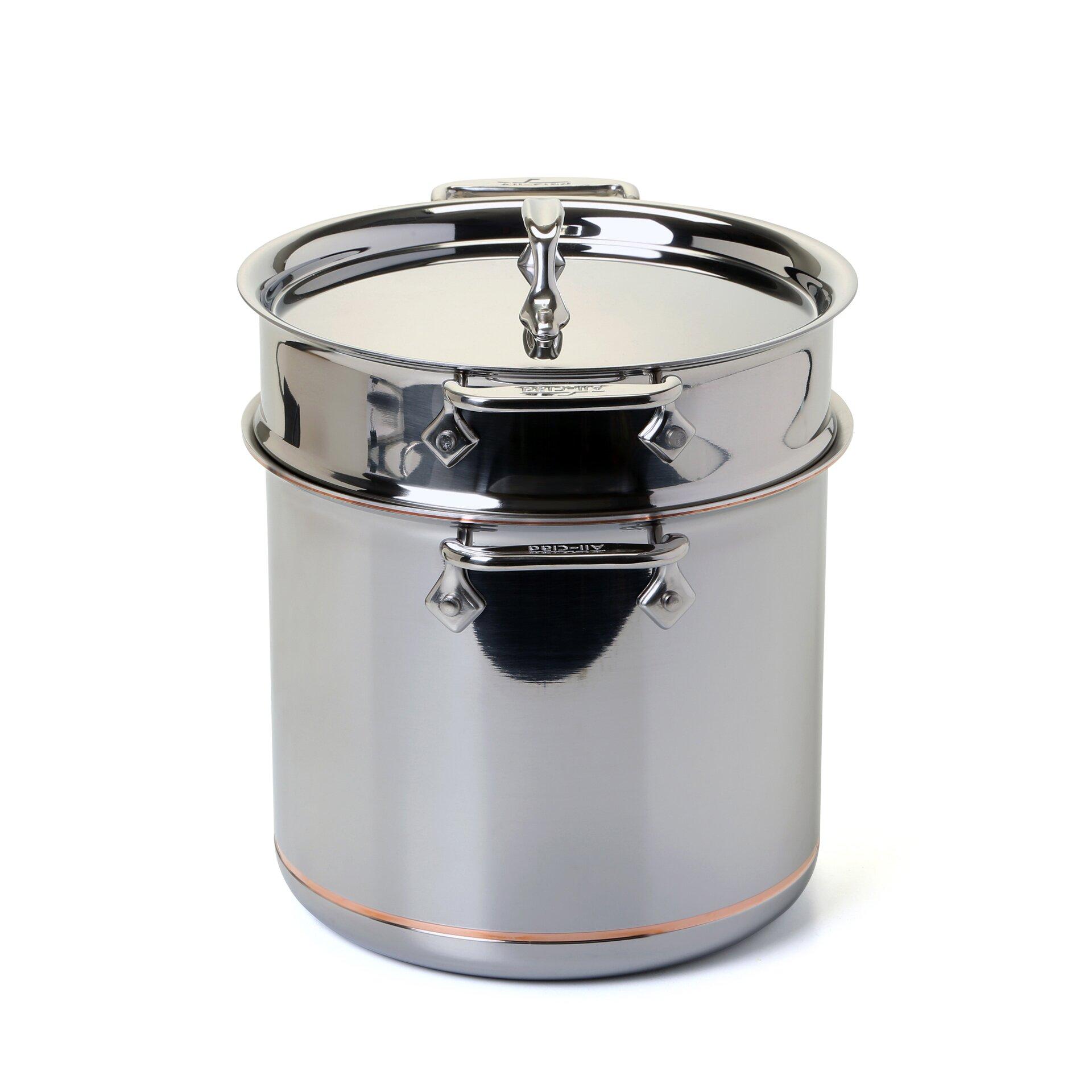 Printables One Drum How Many Quarts all clad copper core 7 qt multi pot reviews wayfair pot