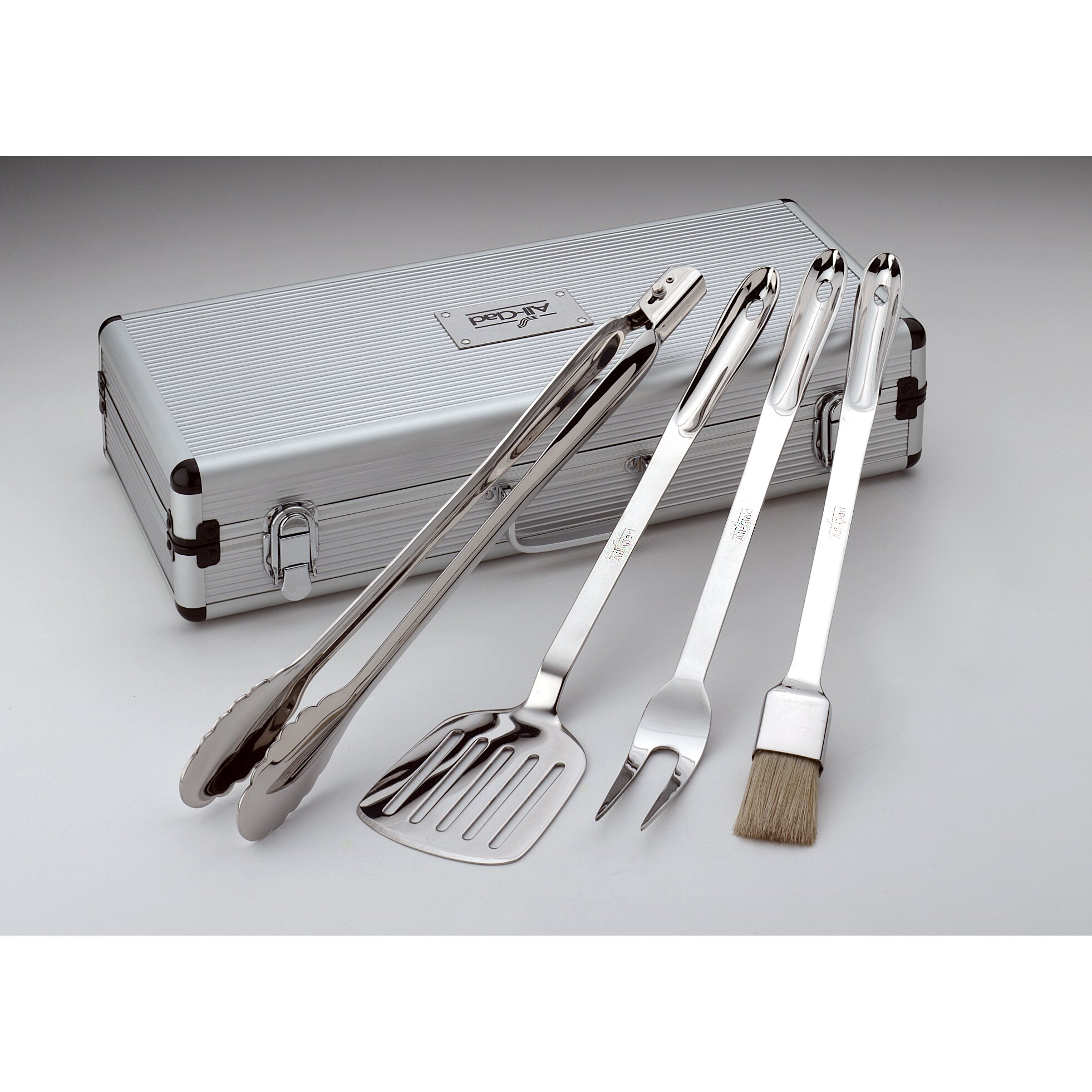 All clad instant read thermometer - All Clad 5 Piece Barbecue Tool Set