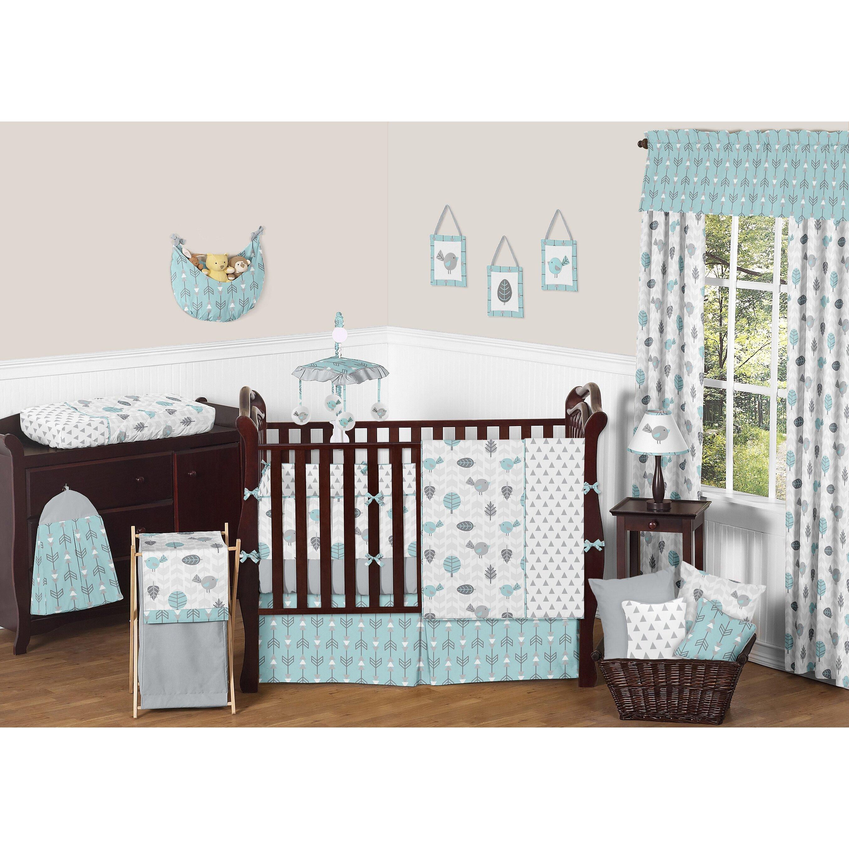 Crib for sale gatineau - Sweet Jojo Designs Earth And Sky 9 Piece Crib Bedding Set