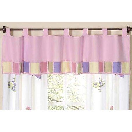 Curtains Ideas butterfly valance curtains : Sweet Jojo Designs Butterfly Curtain Valance & Reviews | Wayfair