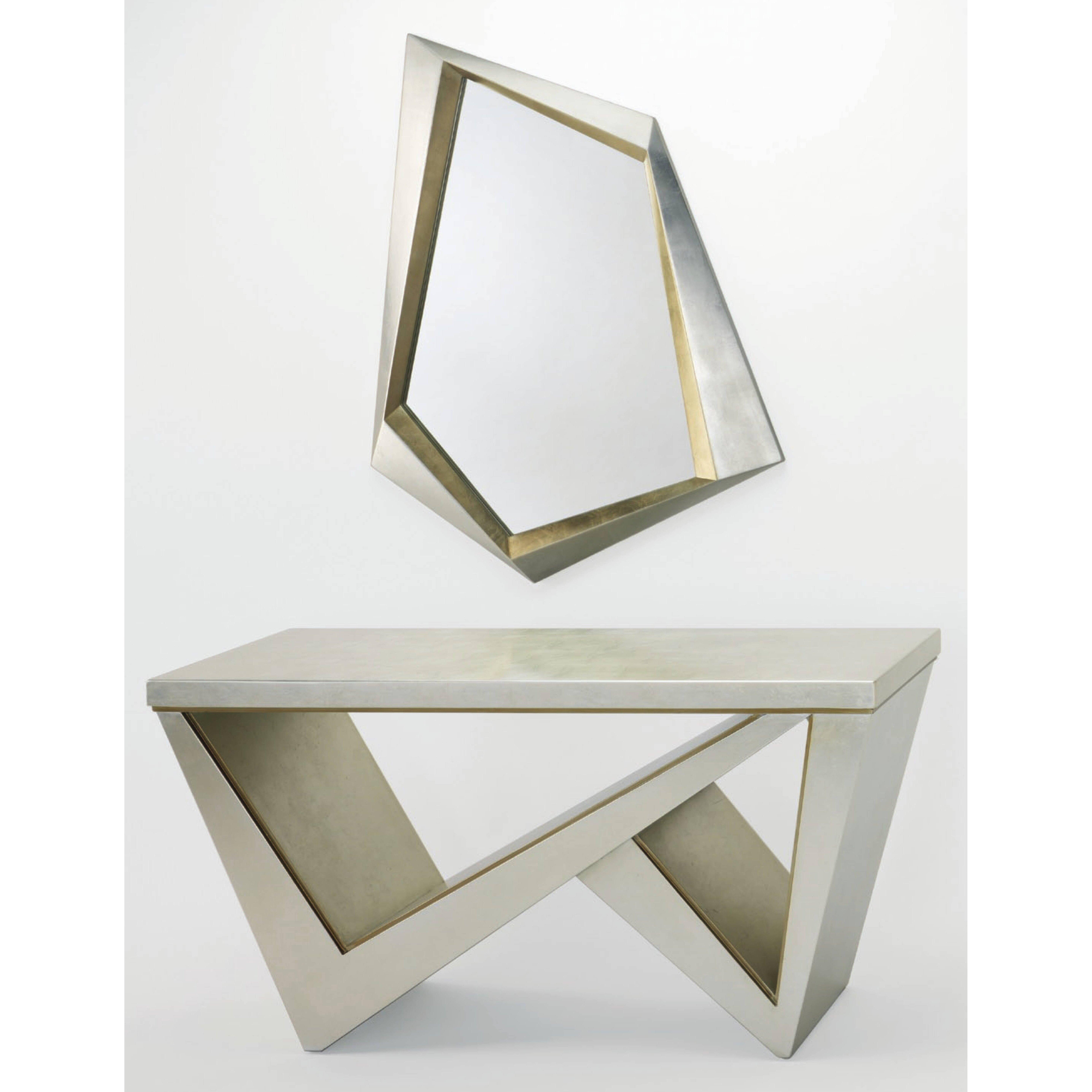 Good Artmax Console Table With Mirror U0026 Reviews Wayfair