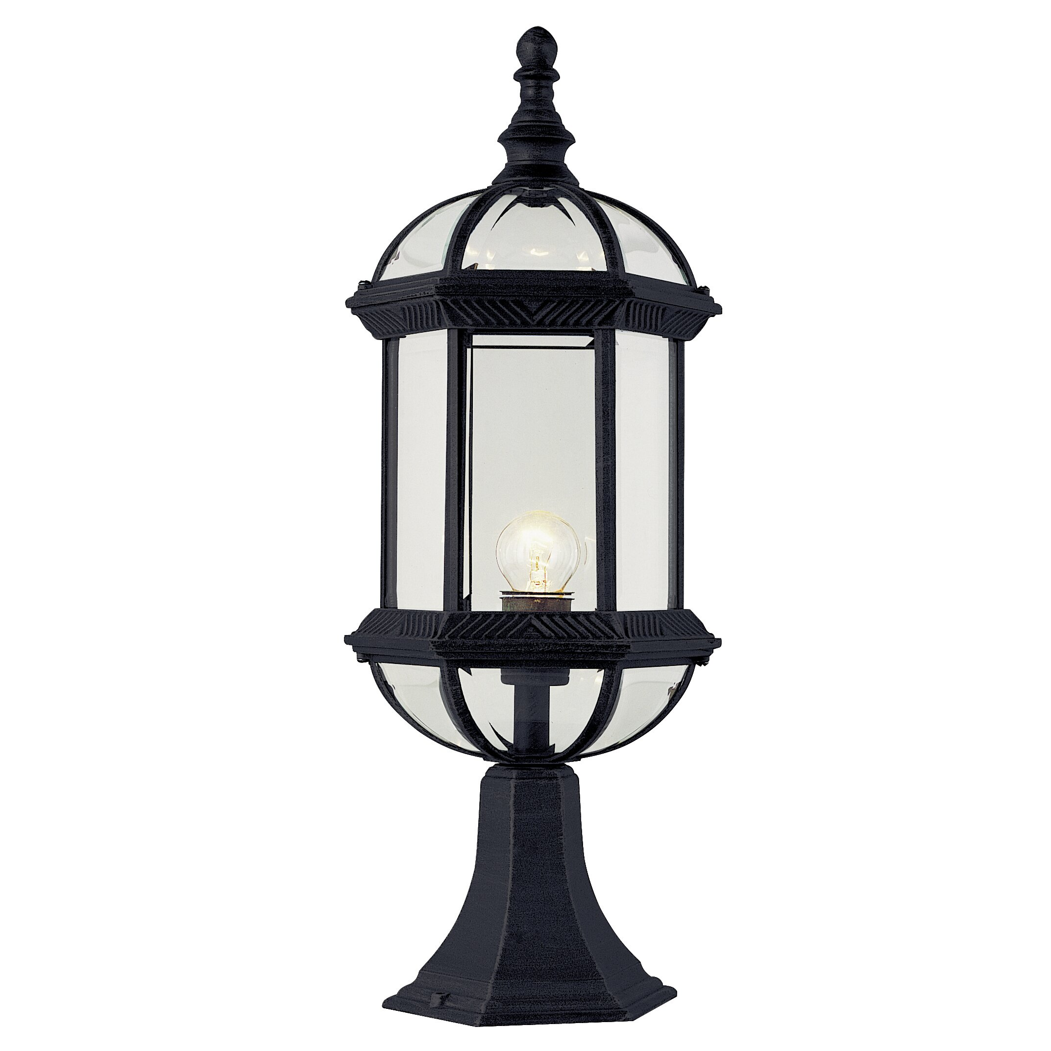 transglobe lighting outdoor 1 light pier mount light. Black Bedroom Furniture Sets. Home Design Ideas