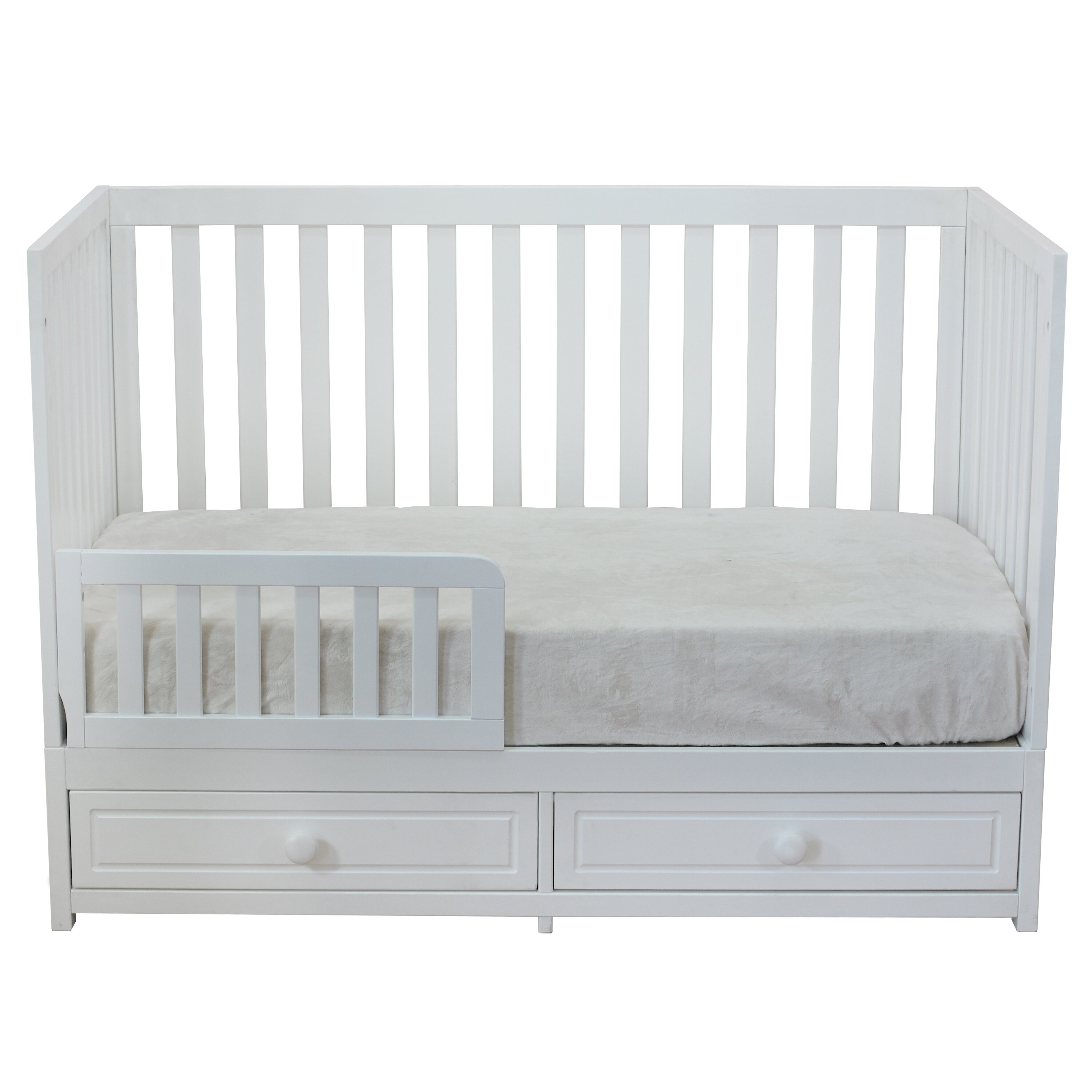 Baby crib mattress dimensions - Afg Baby Furniture Marilyn 3 In 1 Convertible Crib