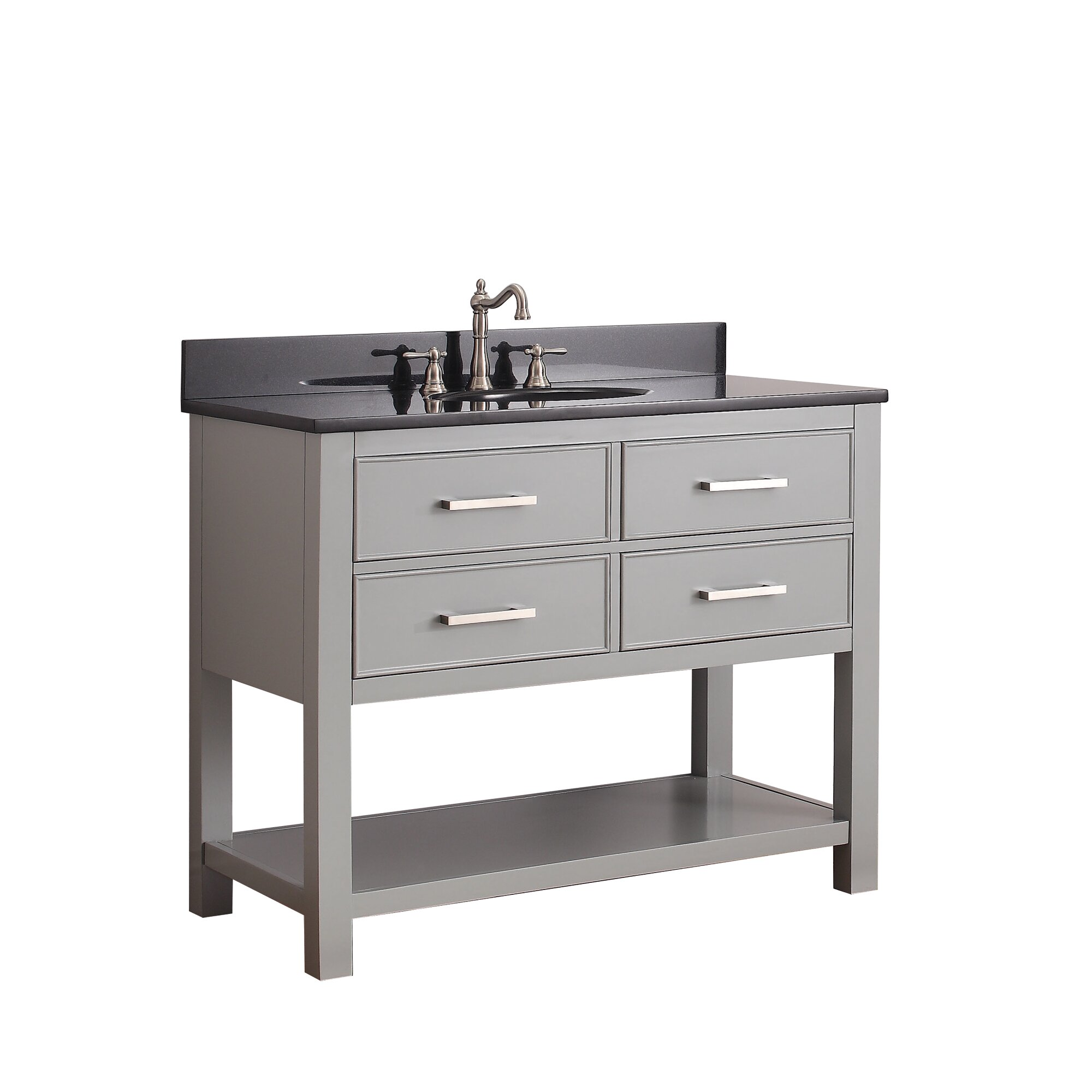 Beautiful 43 Bathroom Vanity #6: Avanity Brooks 43u0026amp;quot; Single Bathroom Vanity Set
