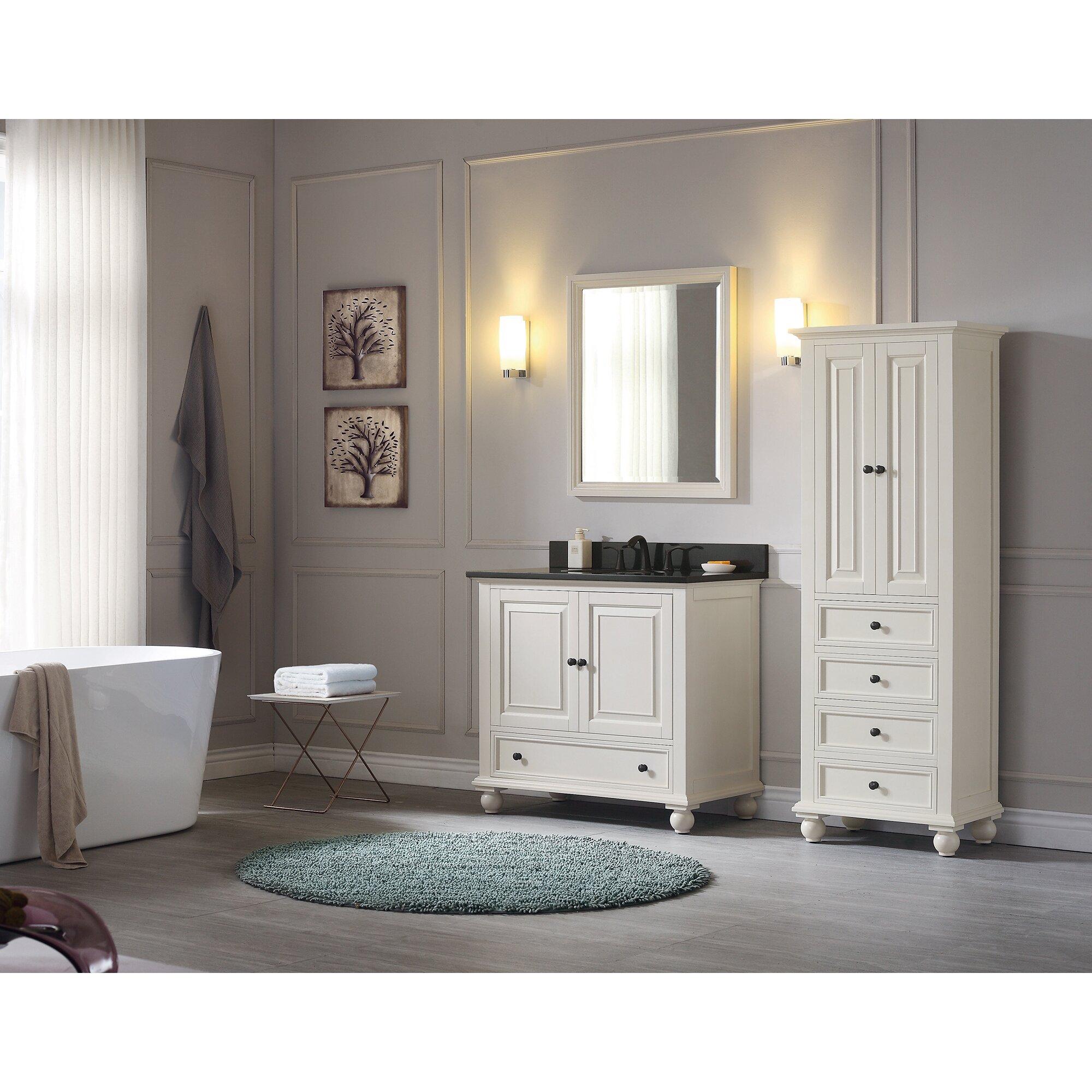 Bathroom Vanity Base Avanity Thompson 36 Single Bathroom Vanity Base Wayfair