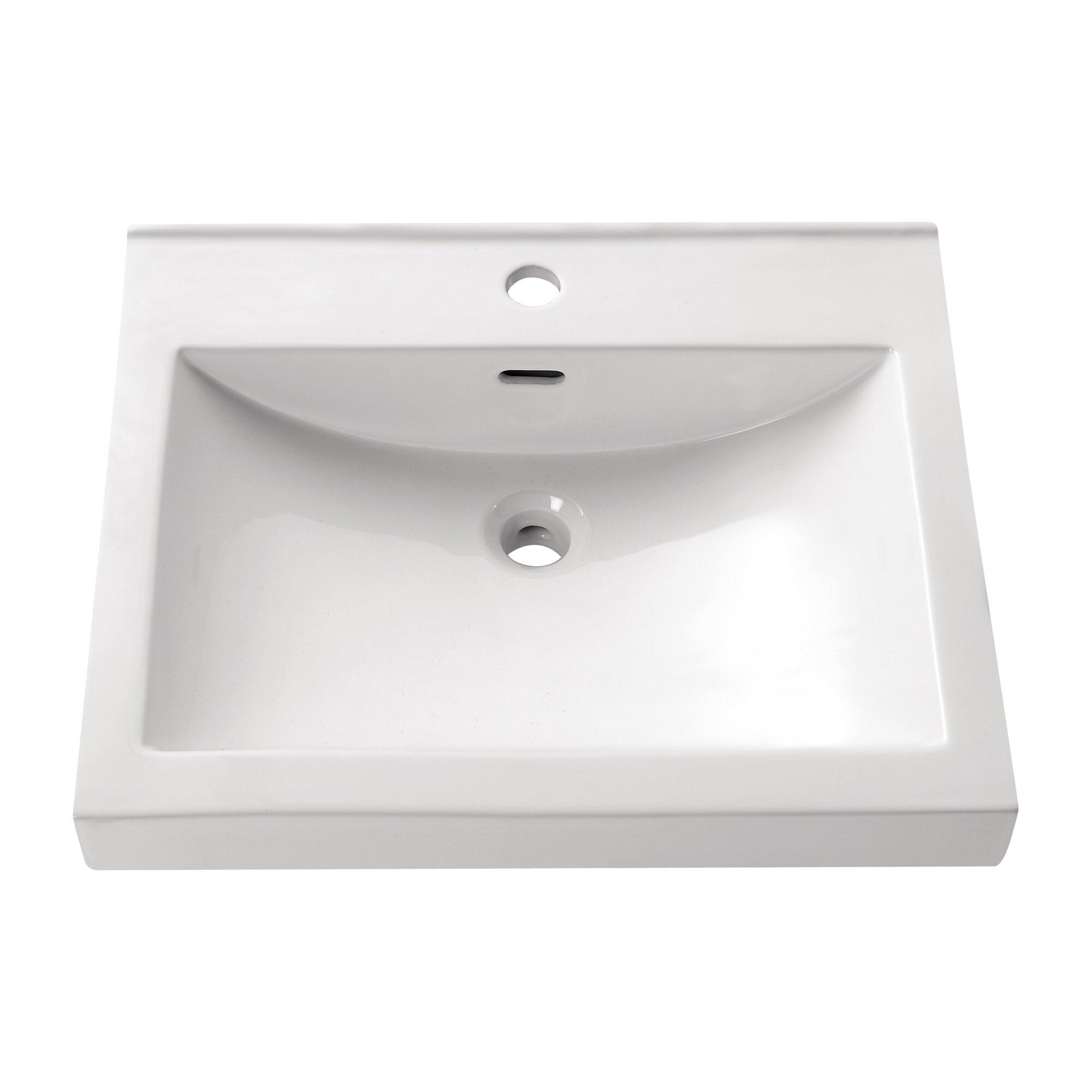 Bathroom Sinks Reviews semi recessed bathroom sink ~ dact