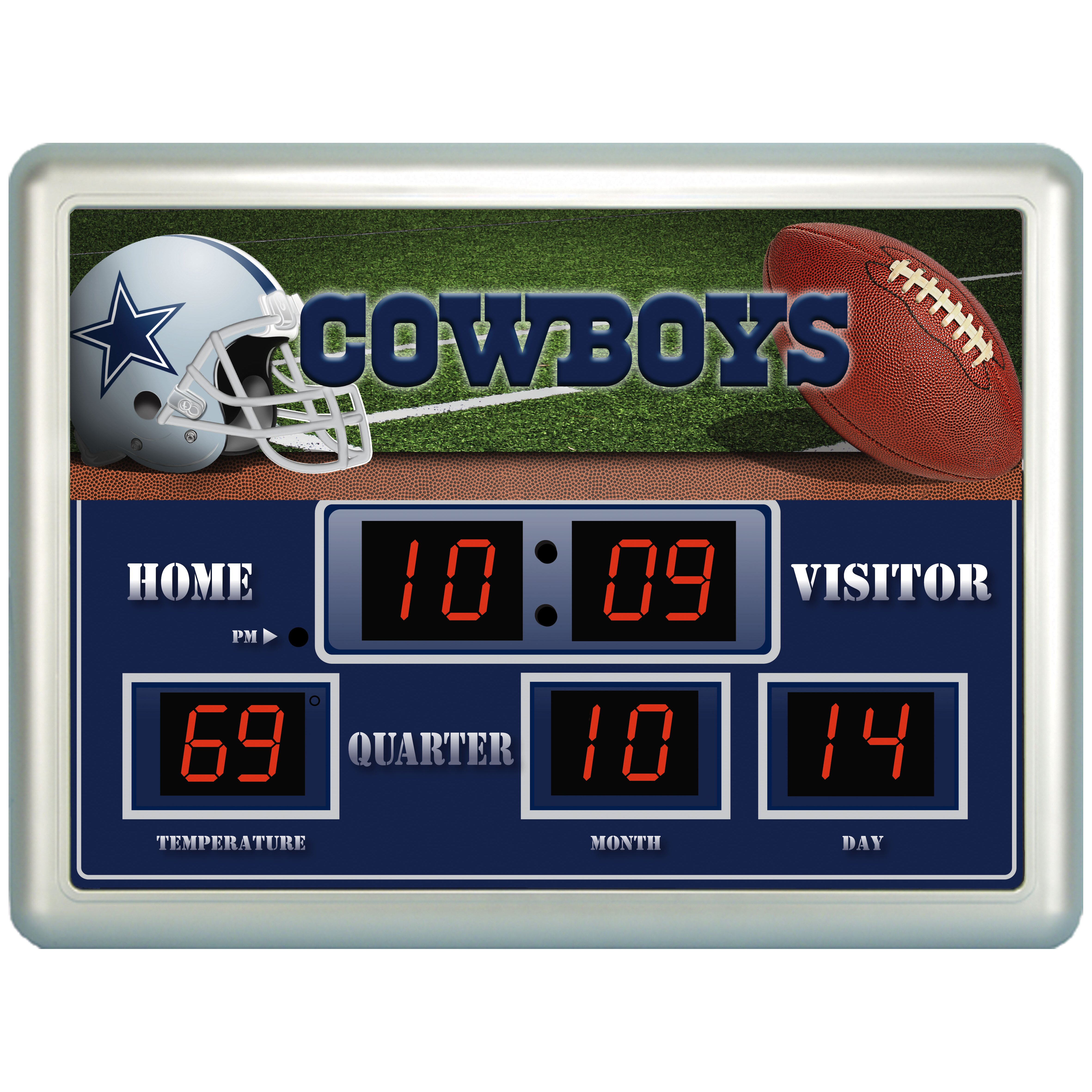 team sports america nfl scoreboard wall clock reviews wayfair team sports america nfl scoreboard wall clock