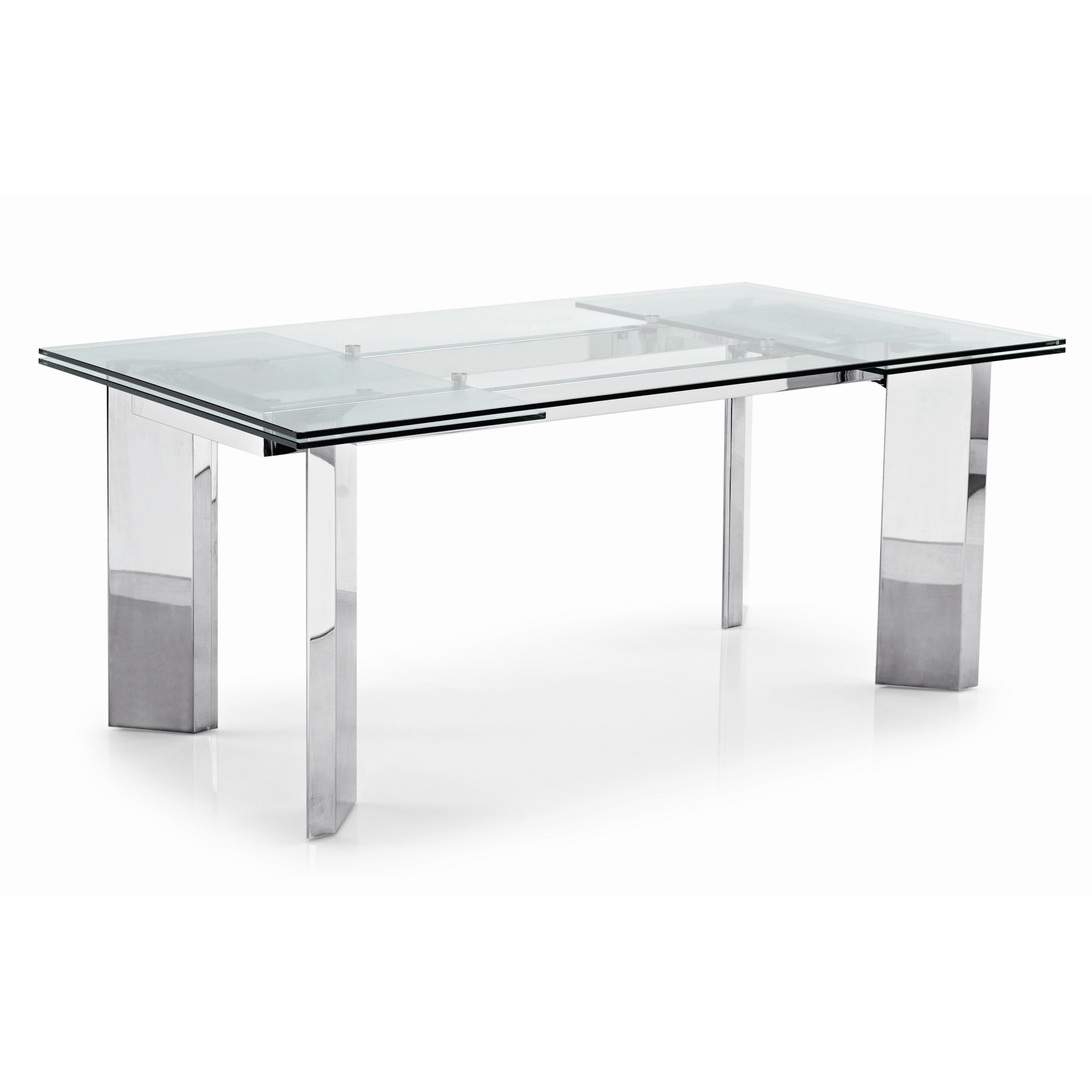 calligaris dining table -  calligaris tower extendable dining table