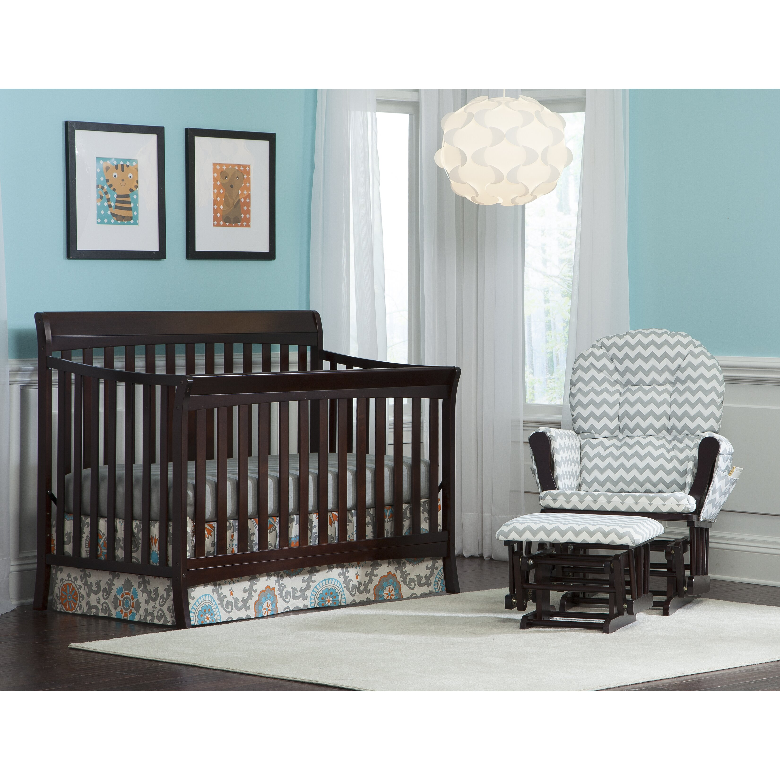 Jardine crib for sale - Storkcraft Avalon 4in1 Convertible Crib