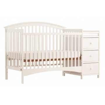 Storkcraft Bradford 4-in-1 Convertible Crib and Changer ...
