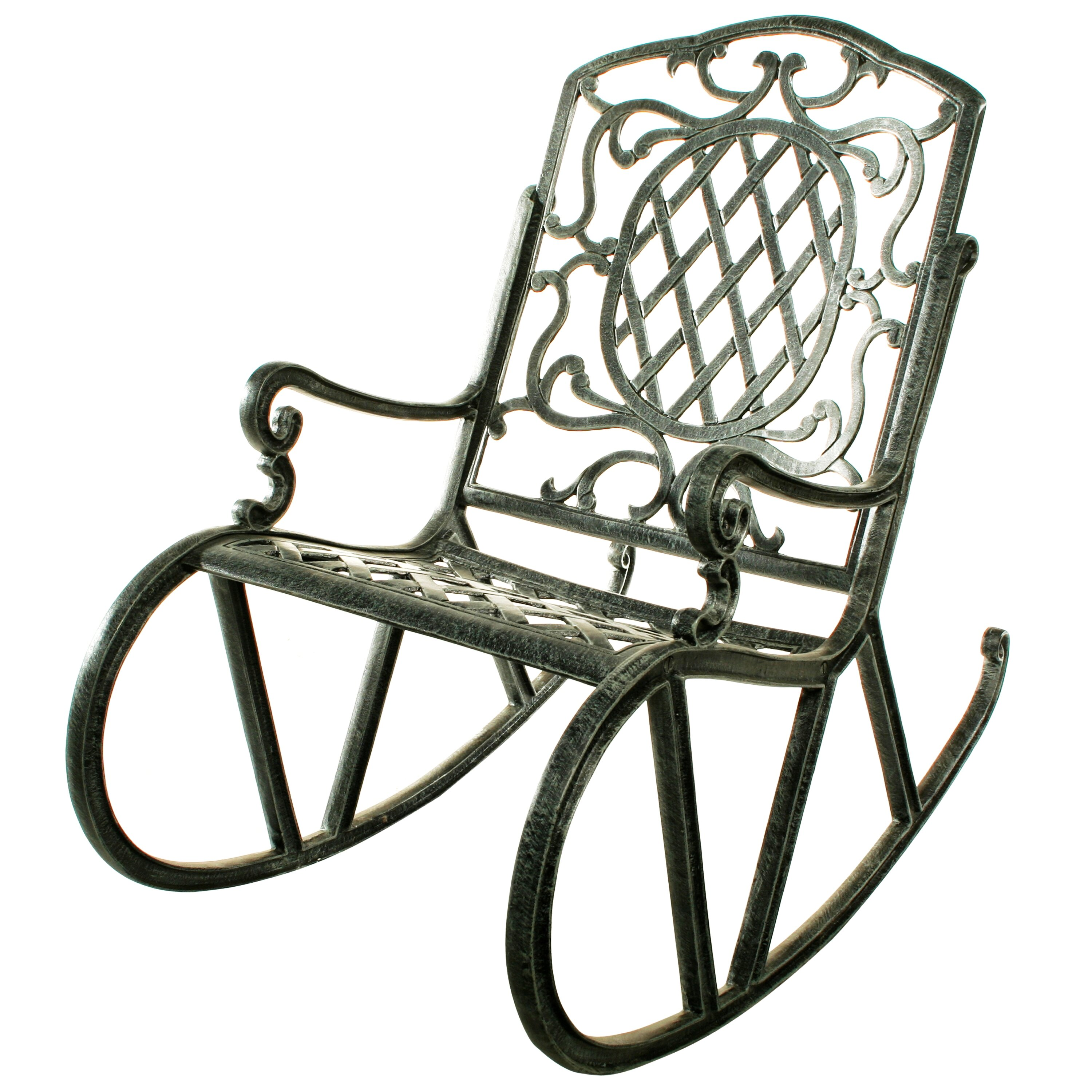 Outdoor Patio Furniture ... Metal Patio Rocking Chairs & Gliders ...