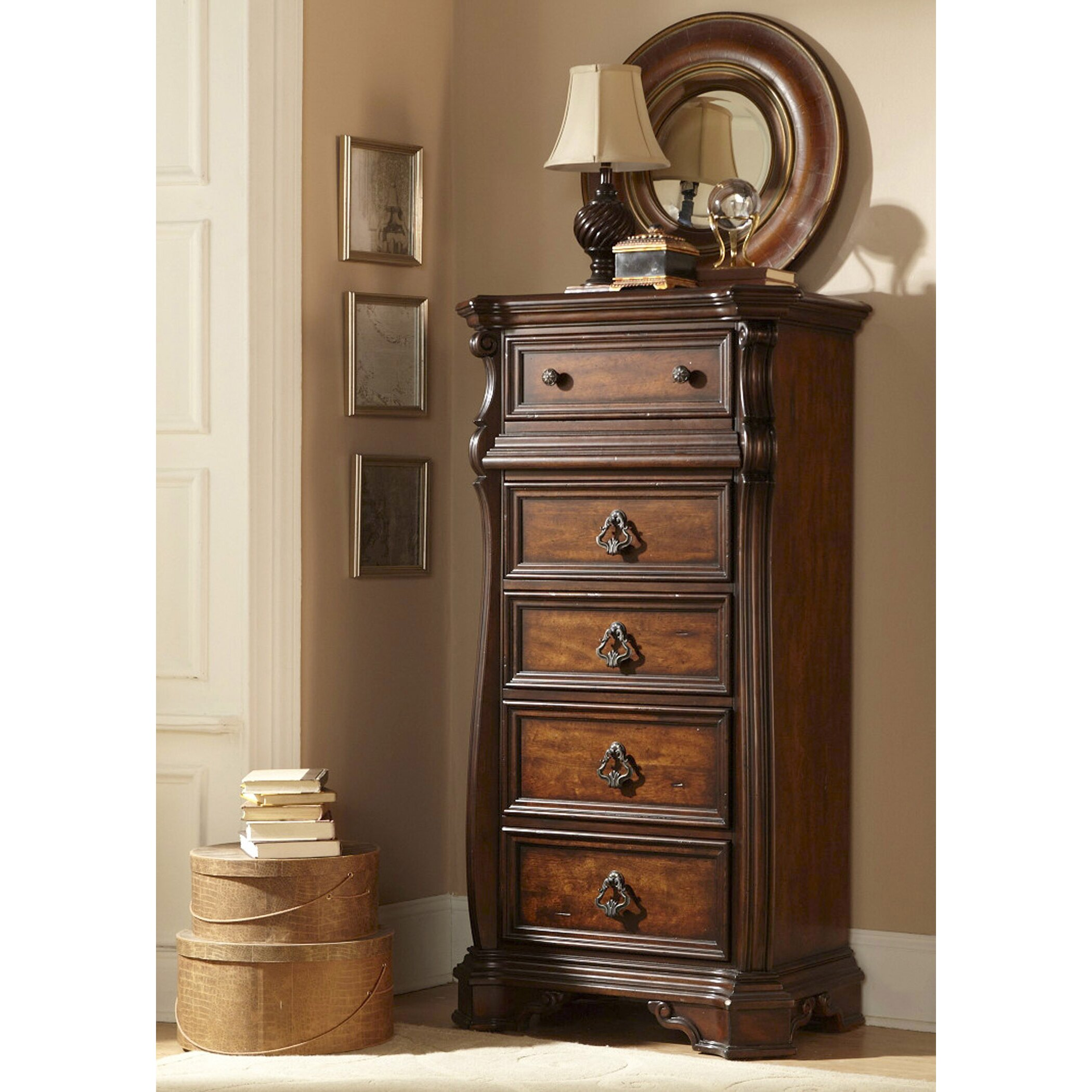 Liberty Furniture Bedroom Liberty Furniture Arbor Place 5 Lingerie Chest Reviews Wayfair