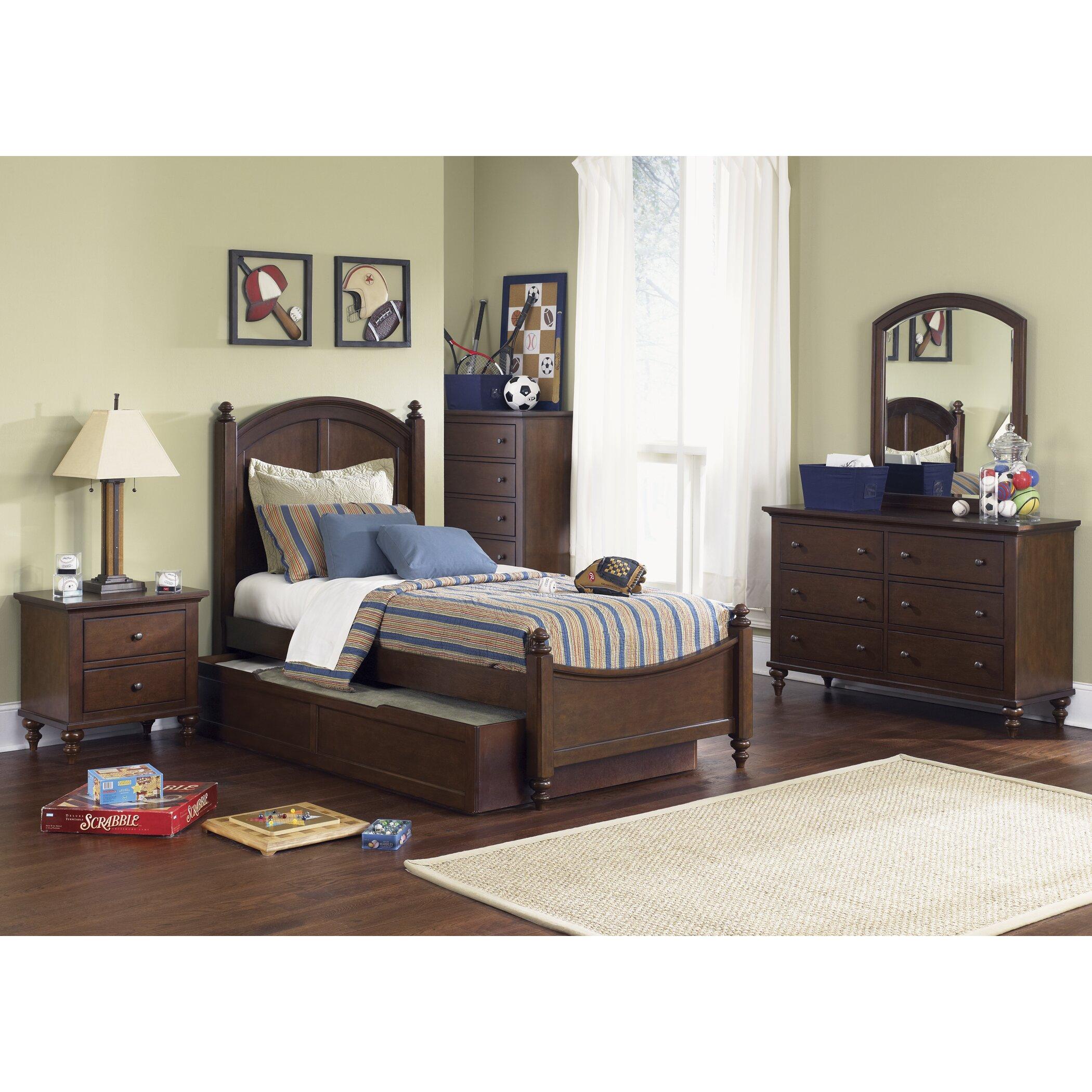 Liberty Furniture Bedroom Sets Liberty Furniture Abbott Ridge Panel Customizable Bedroom Set