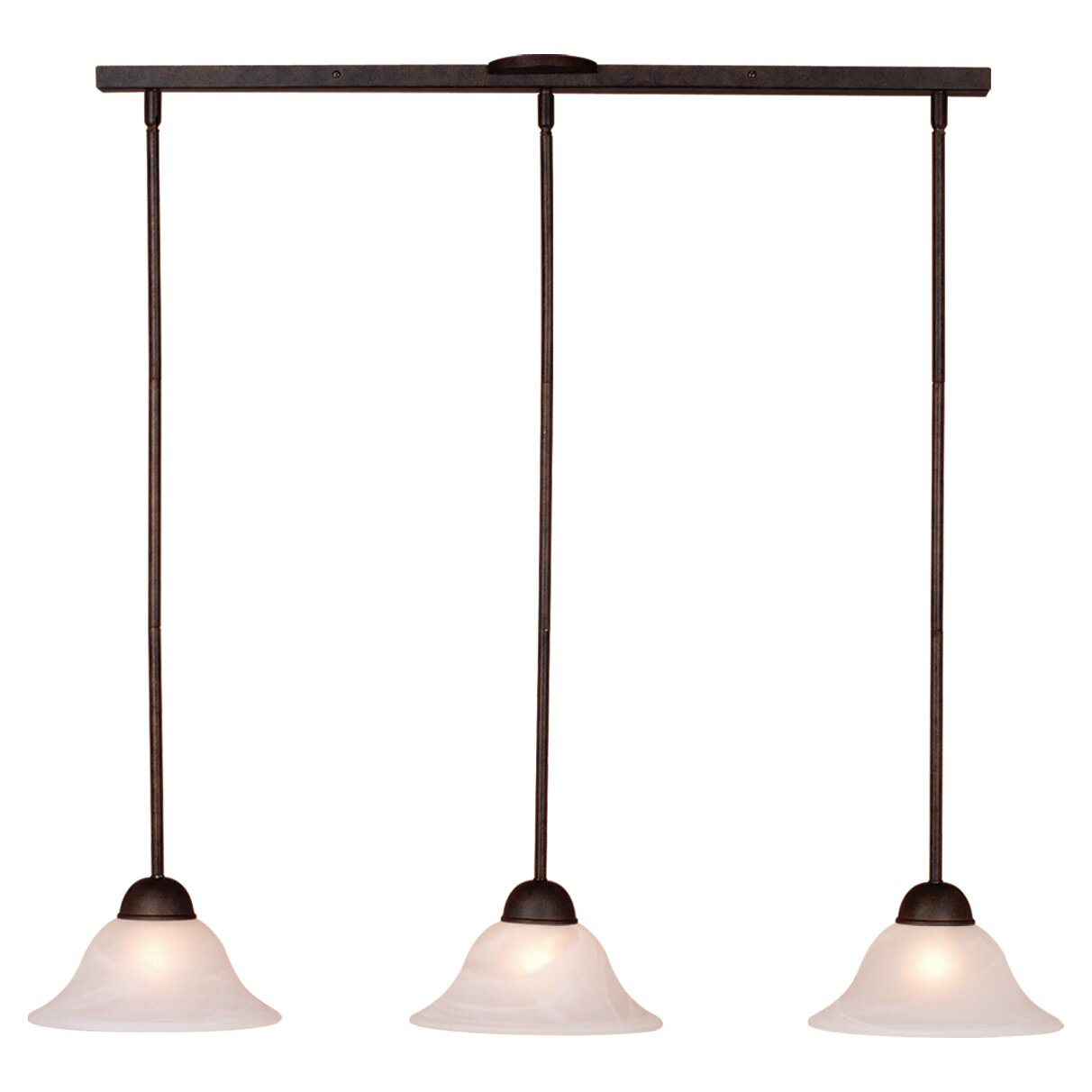 3 Light Kitchen Island Pendant Vaxcel Da Vinci 3 Light Kitchen Island Pendant Reviews Wayfair