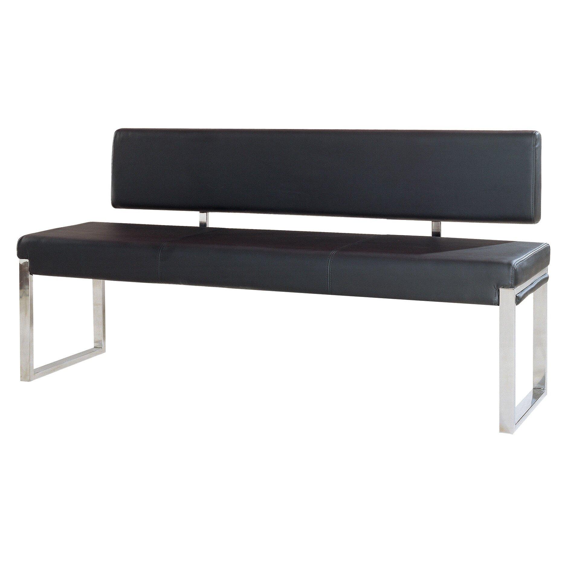 diamond sofa knox upholstered bedroom bench & reviews   wayfair