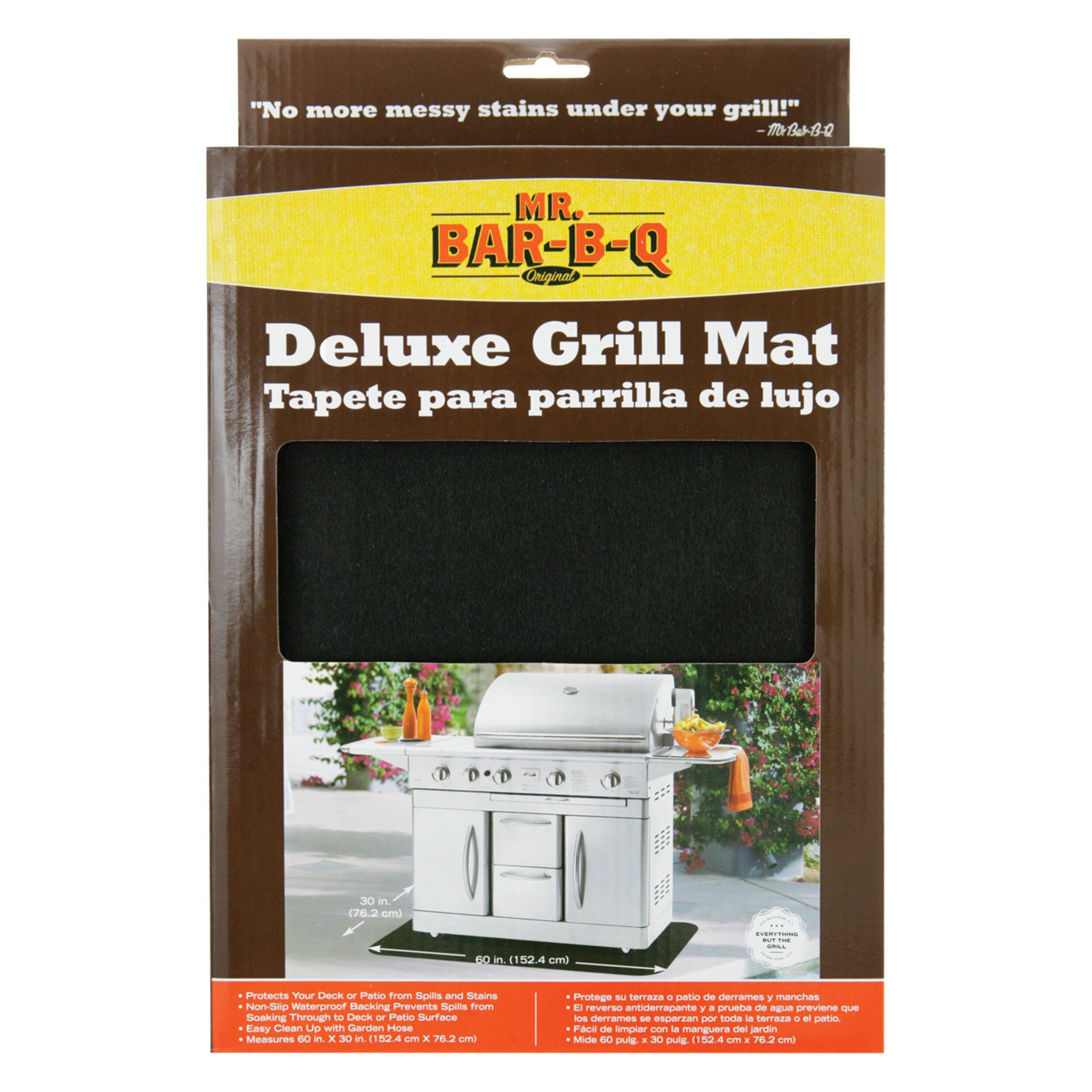 Floor mats b q - Mr Bar B Q Deluxe Grill Mat