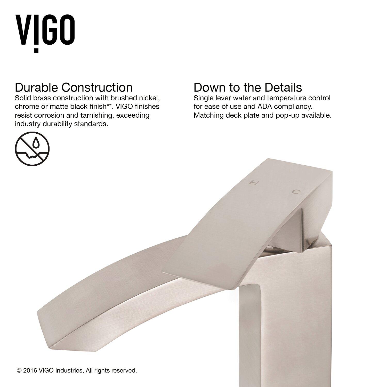 Vigo Satro Single Lever Basin