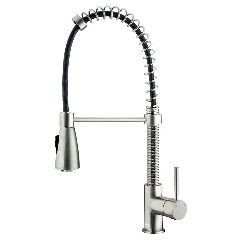 Kitchen Pull Down Faucet Vigo Brant Single Handle Pull Down Spray Kitchen Faucet Reviews