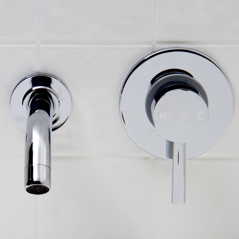 Wall Faucets Bathroom: VIGO Olus Wall Mount Bathroom Faucet & Reviews