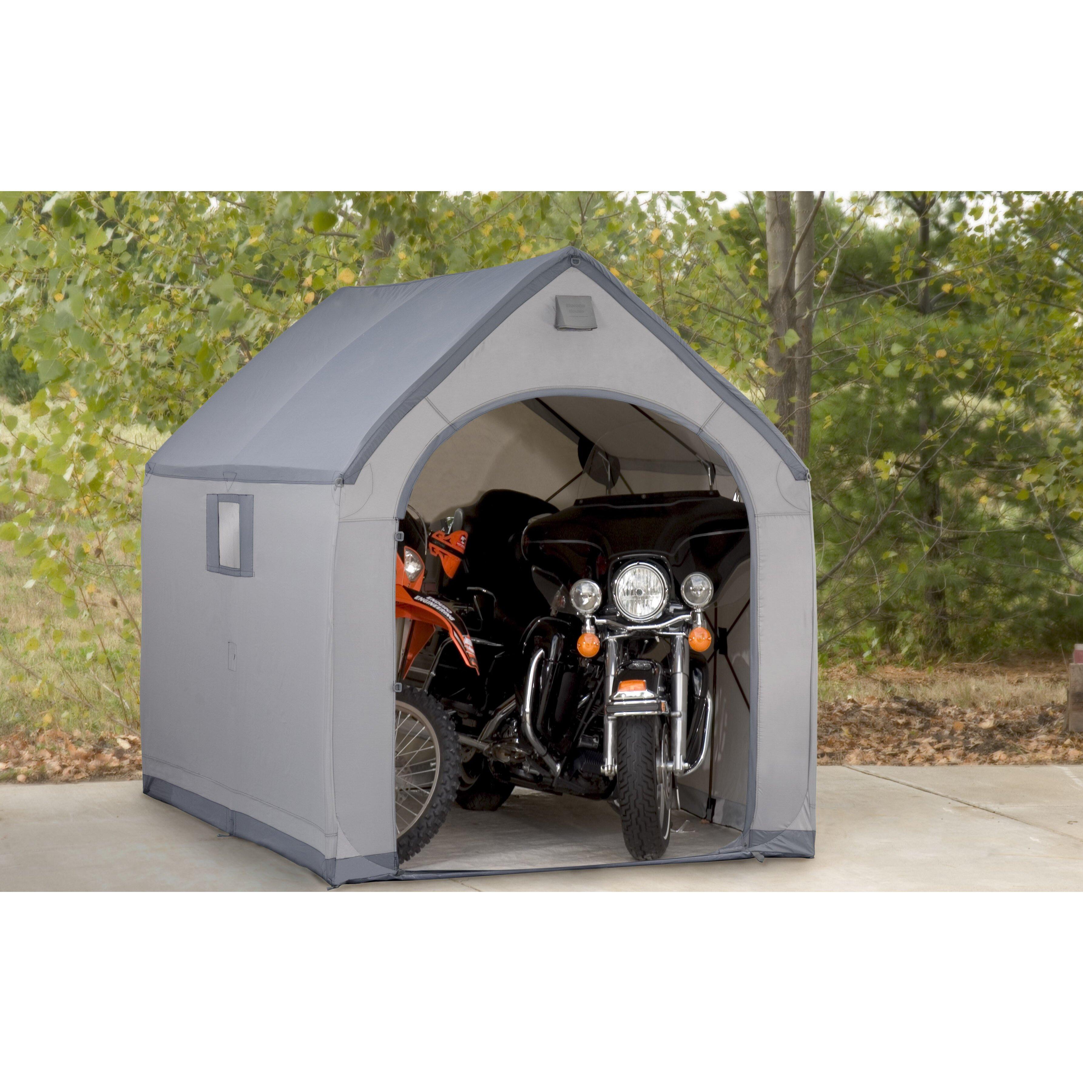 Flowerhouse StorageHouse 6 Ft. W X 7 Ft. D Plastic Portable Shed & Reviews