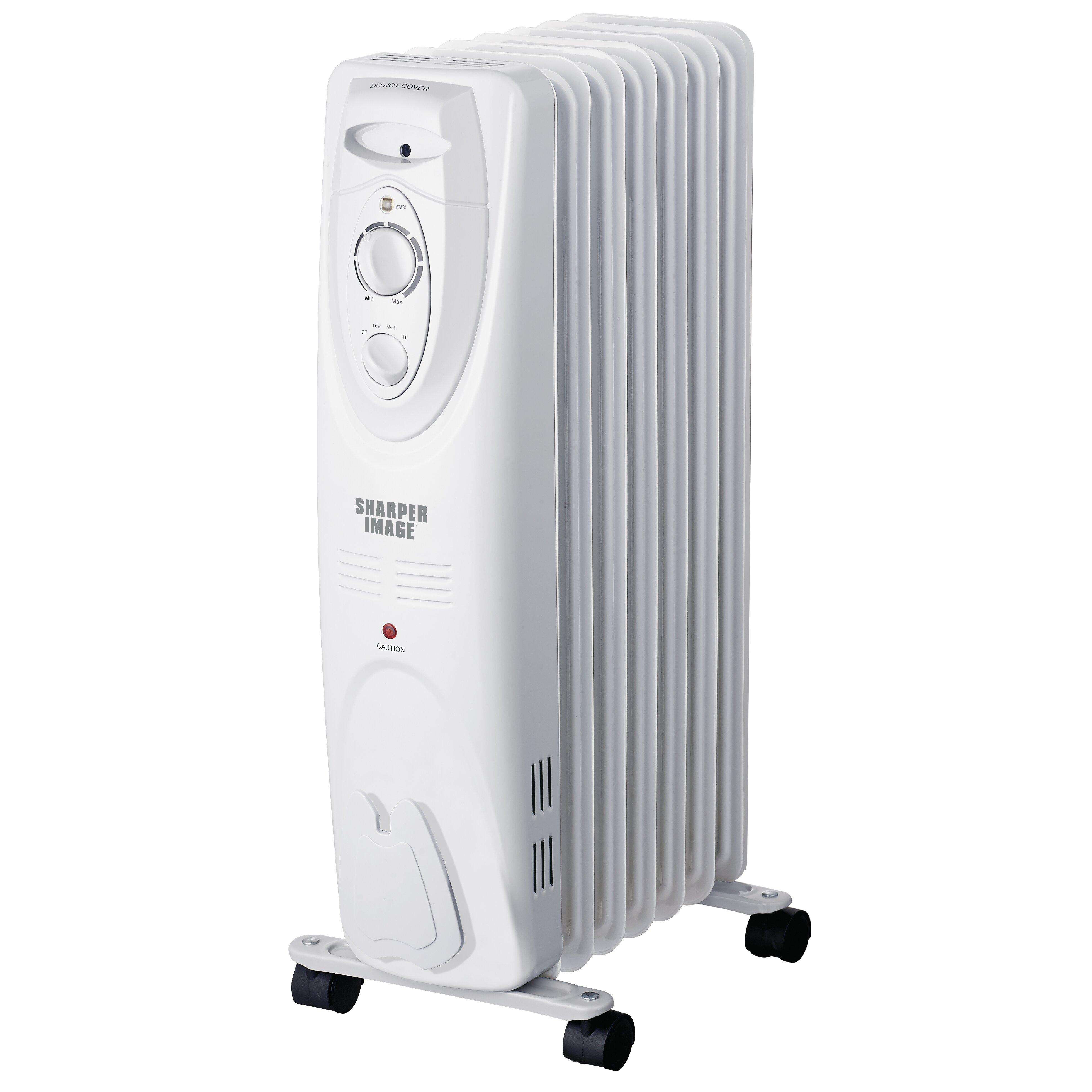 Delonghi safe heat oil filled radiator - Sharper Image Portable Oil Filled Radiator