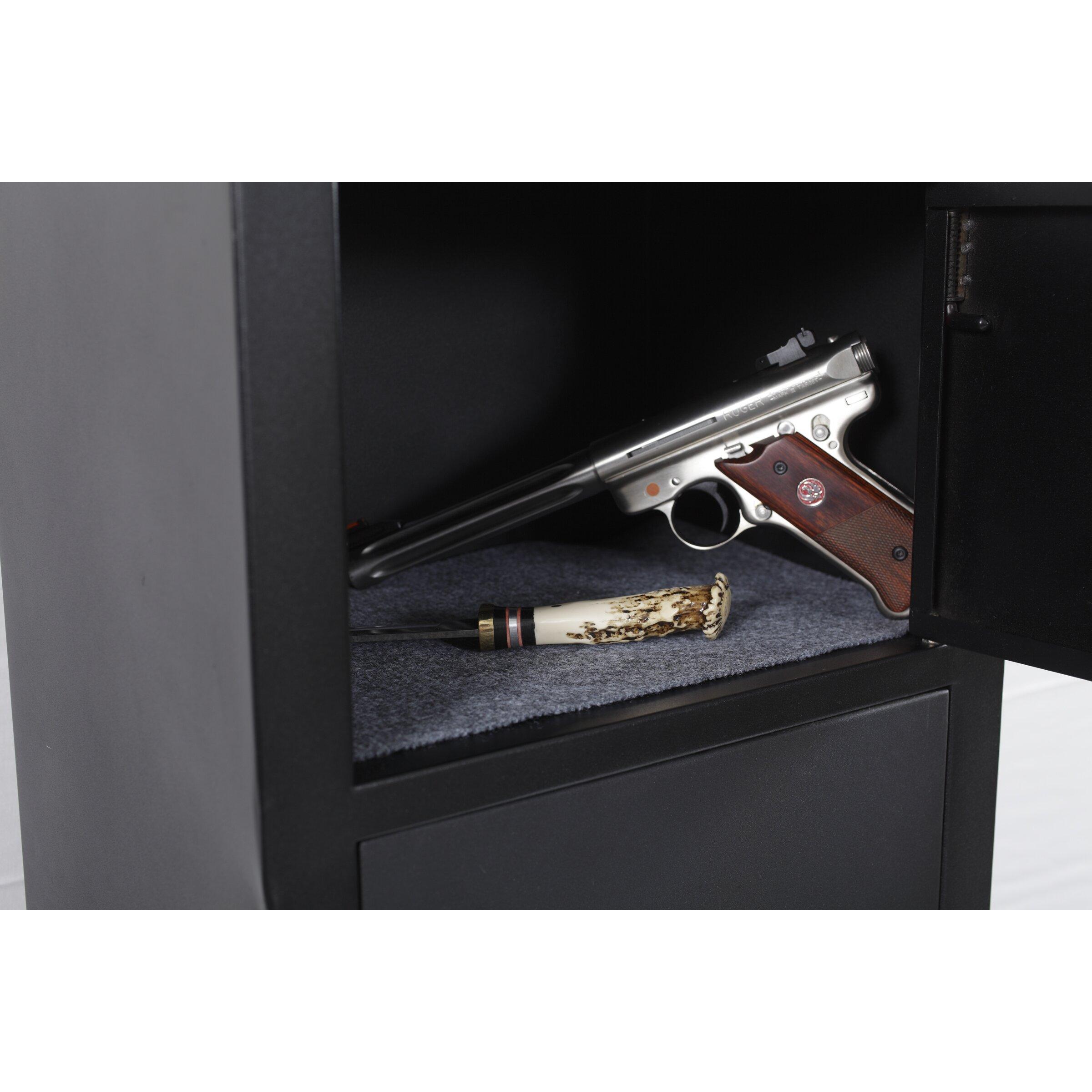 Woodmark Gun Cabinet American Furniture Classics Key Lock Gun Safe Reviews Wayfair