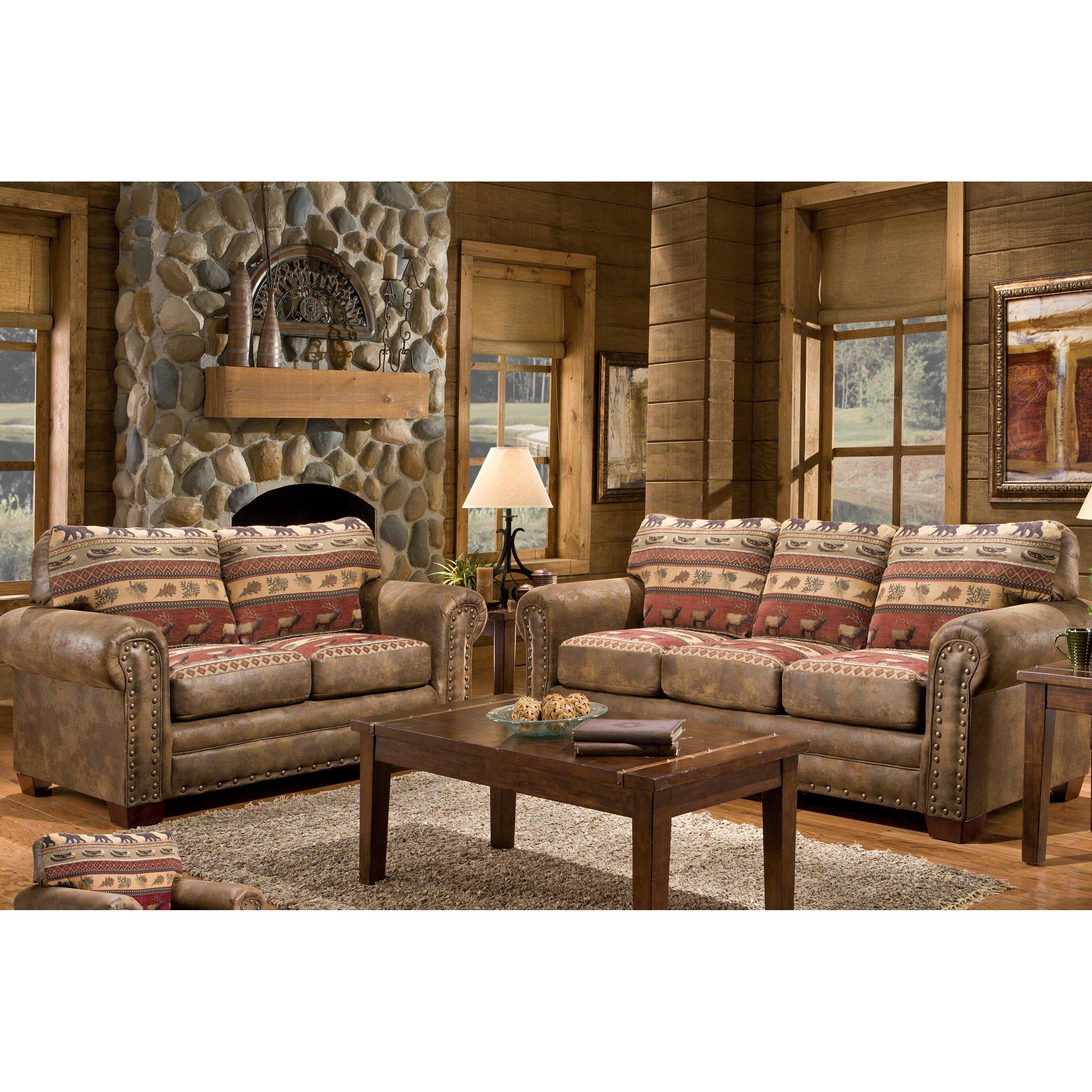 american furniture clics lodge sierra sofa reviews wayfair - Lodge Furniture