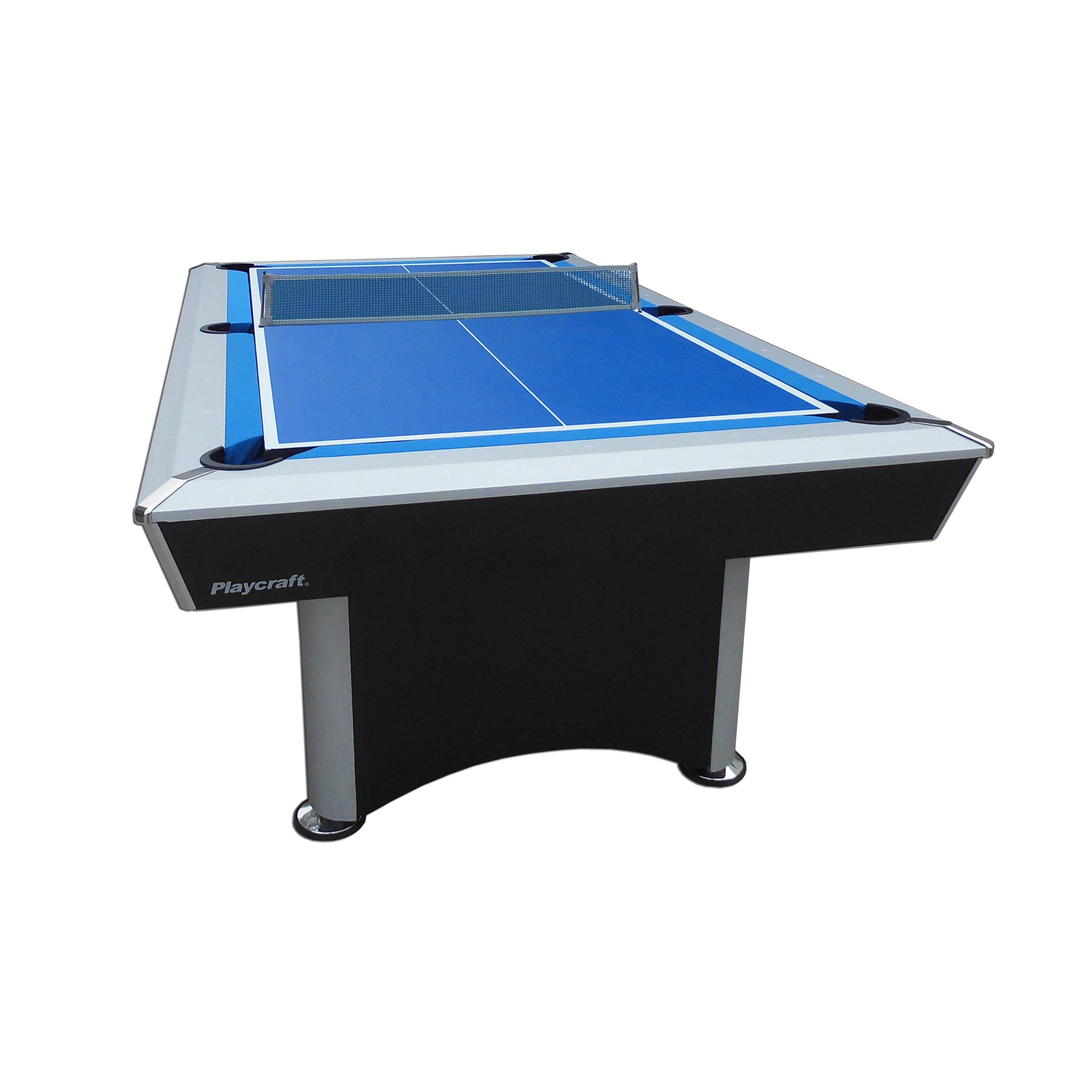 3 in 1 ping pong pool air hockey table - Playcraft 3 In 1 Sprint 7 Pool Table