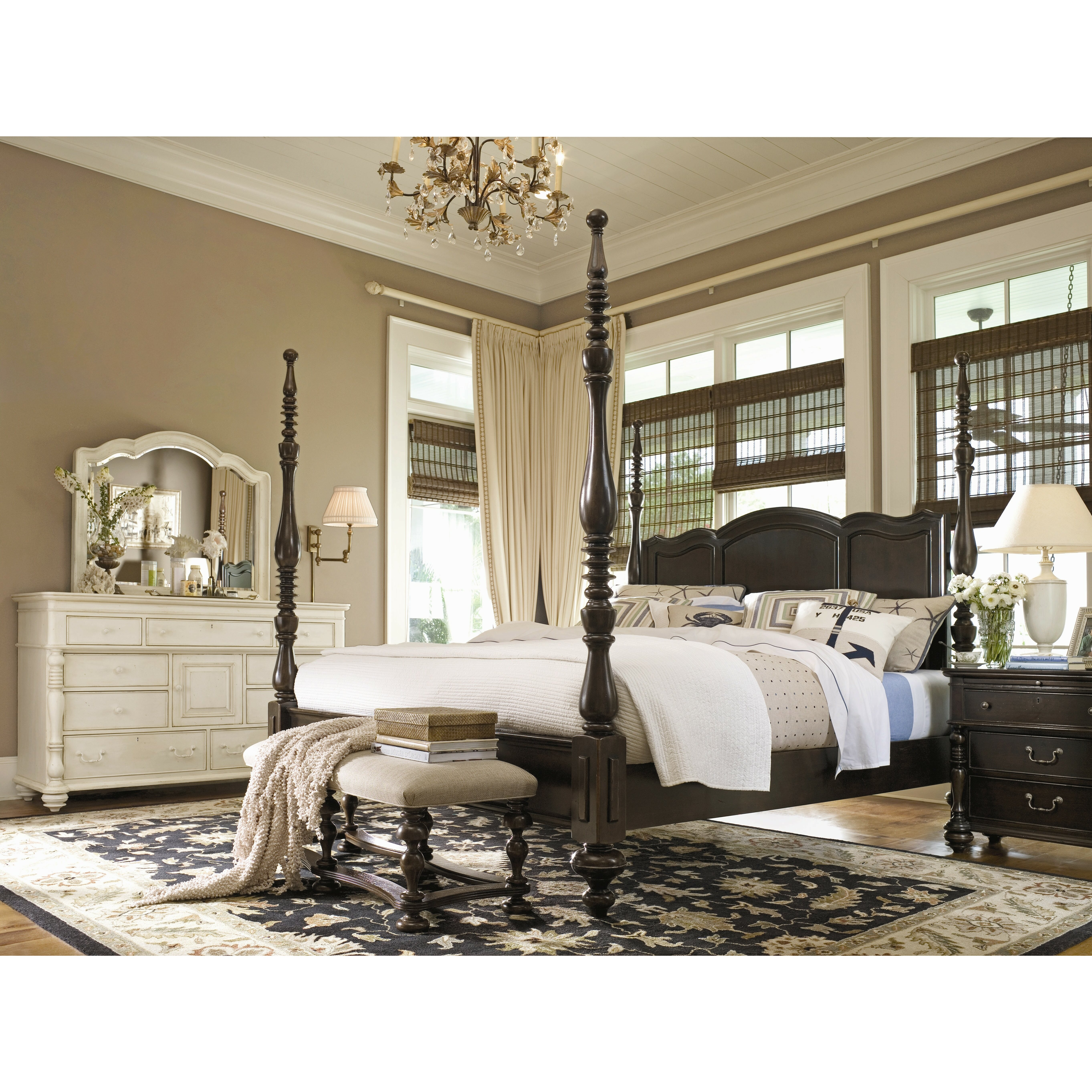 Paula Deen Bedroom Furniture Collection Steel Magnolia Paula Deen Home Steel Magnolia 9 Drawer Combo Dresser Reviews