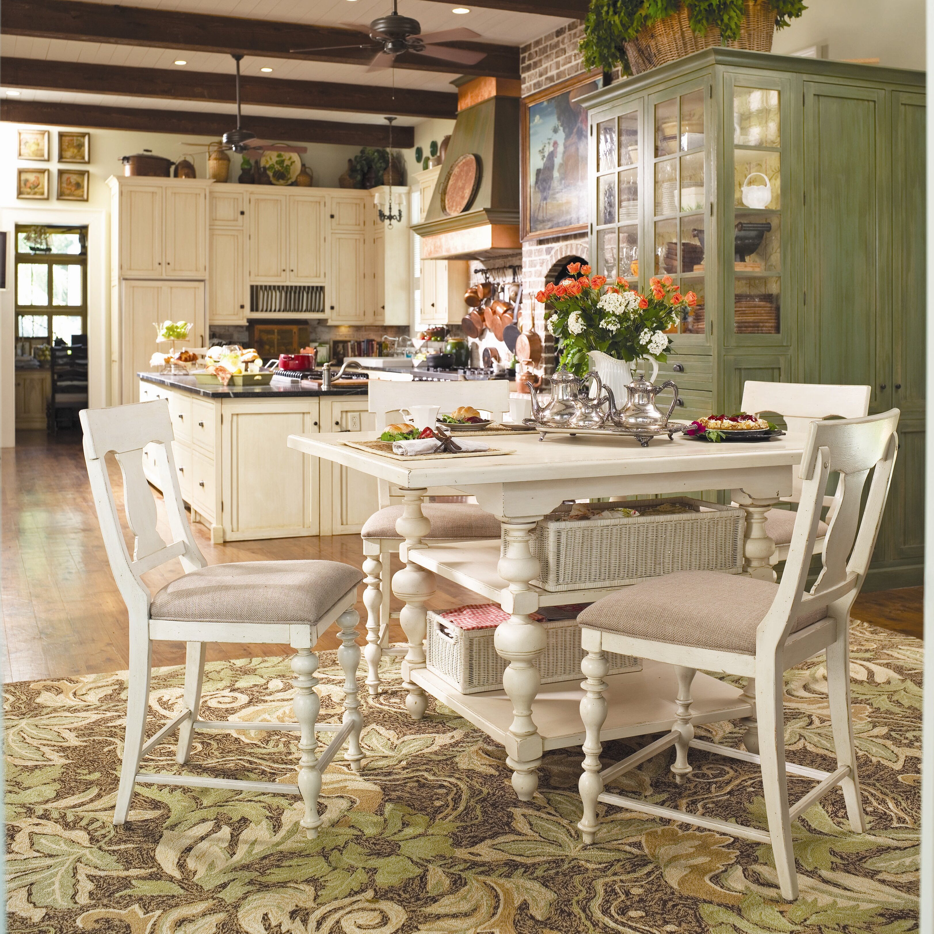 Paula Deen Kitchen Cabinets Paula Deen Home Sweet Tea 5 Piece Dining Set Reviews Wayfair