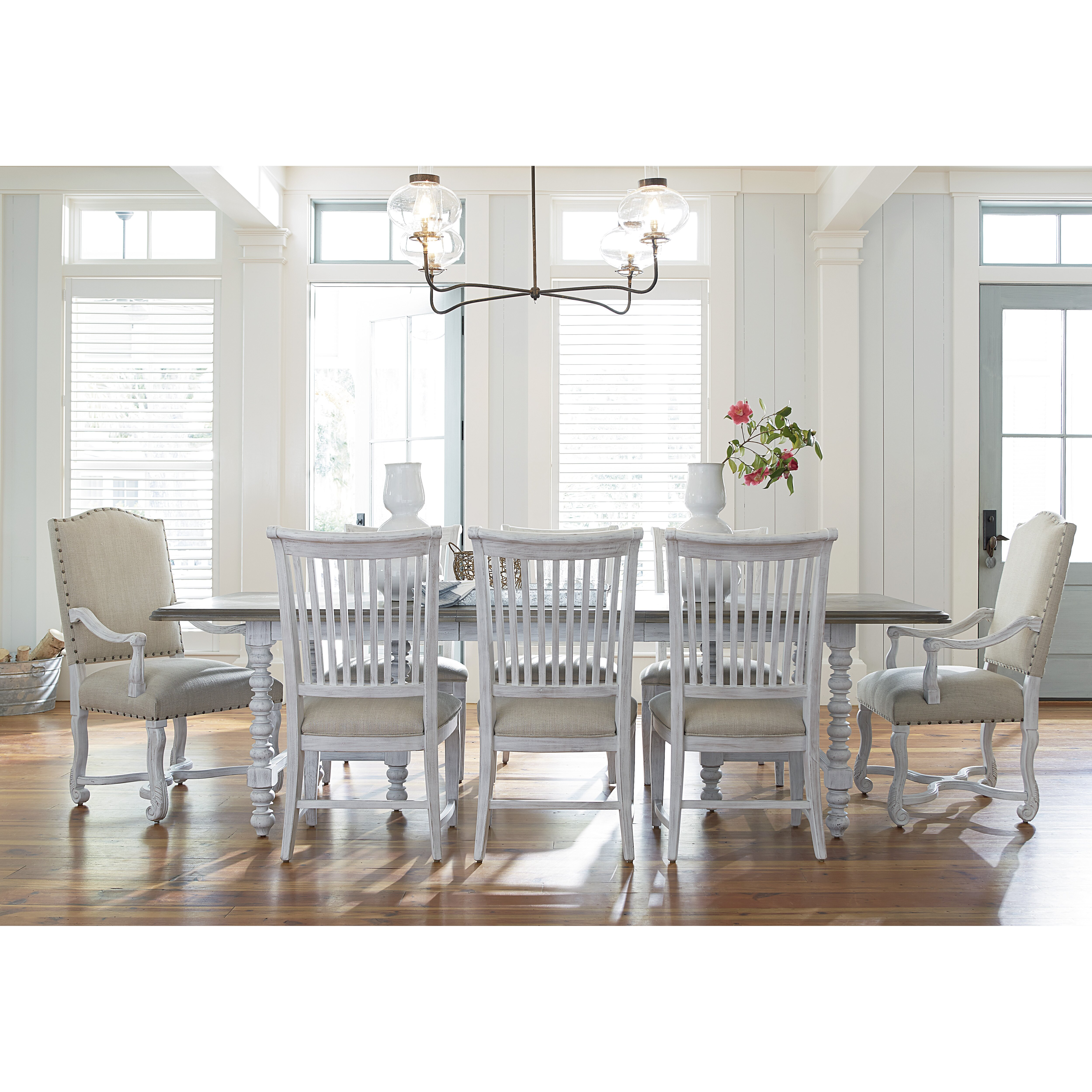 coastal kitchen dining tables c a~ beachy kitchen table Dogwood Extendable Dining Table