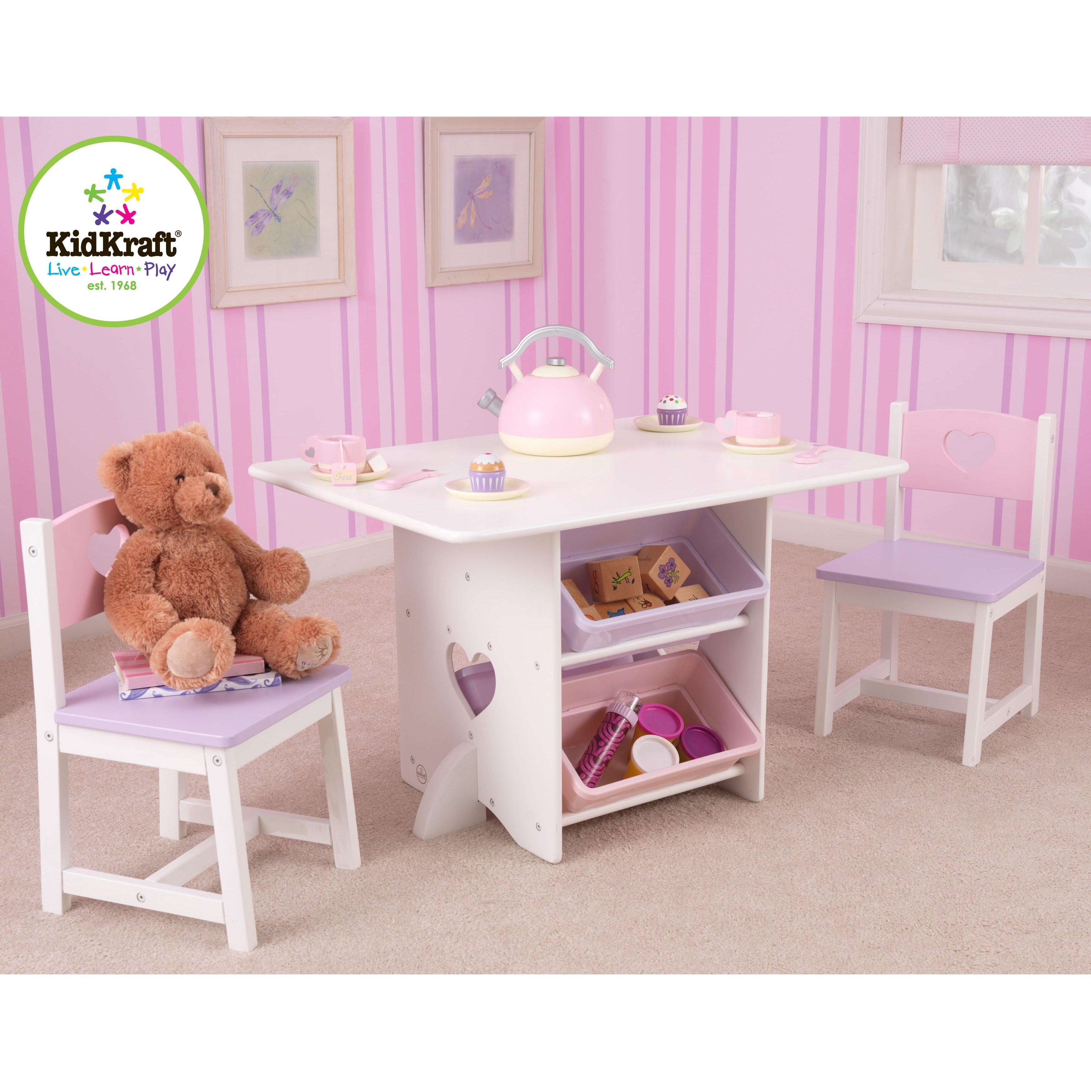 kidkraft 3 tlg kindertisch und stuhl set bewertungen. Black Bedroom Furniture Sets. Home Design Ideas