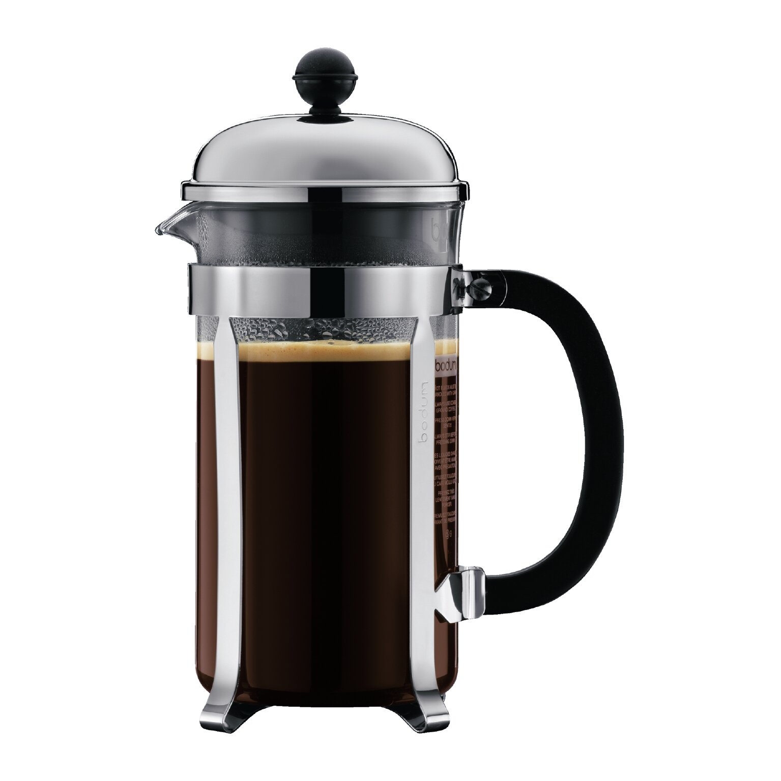 Bed bath beyond french press - Bodum Chambord French Press Coffee Maker Reviews Wayfair